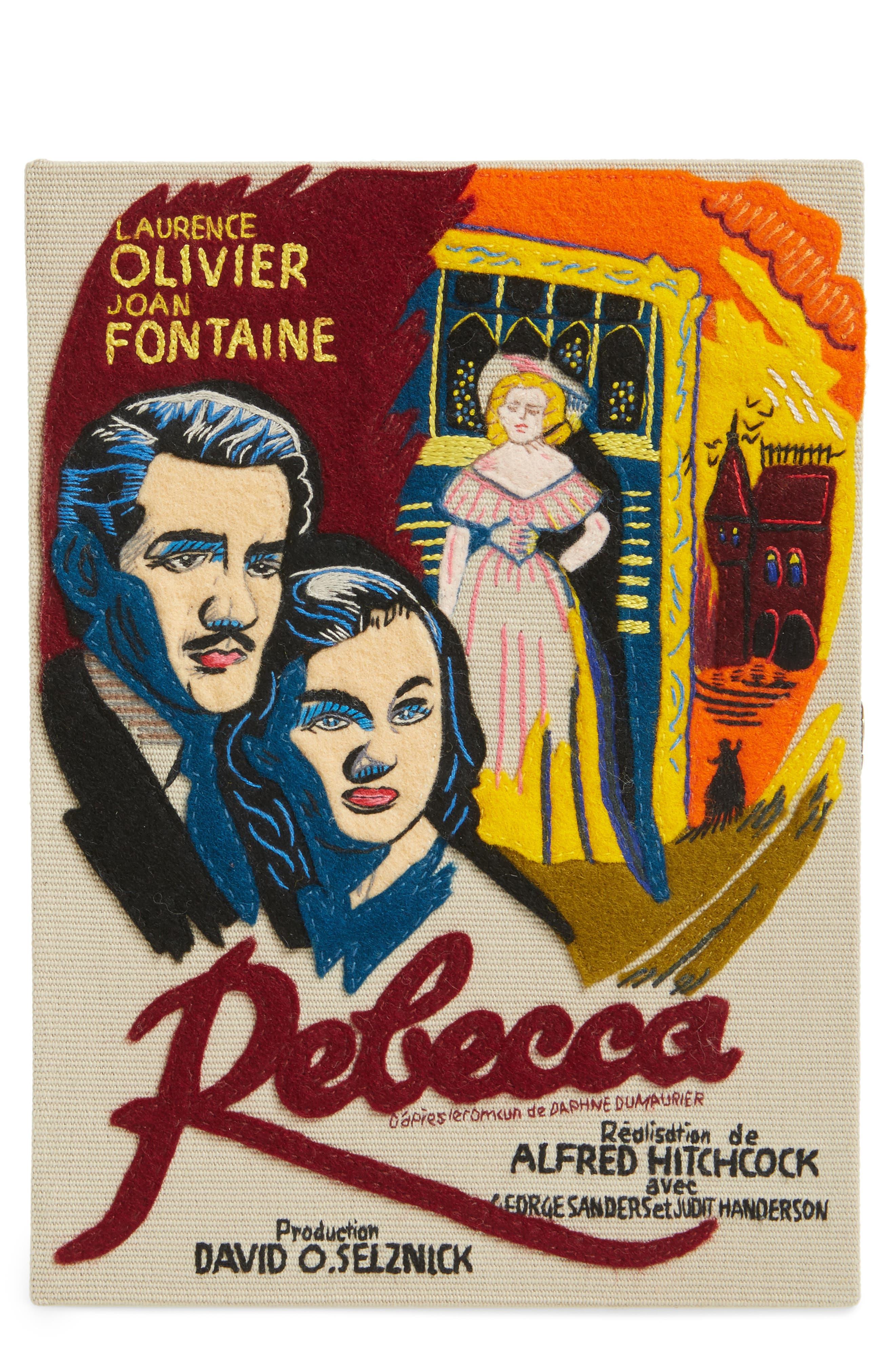 Olympia Le-Tan Hitchcock 'Rebecca' Book Clutch