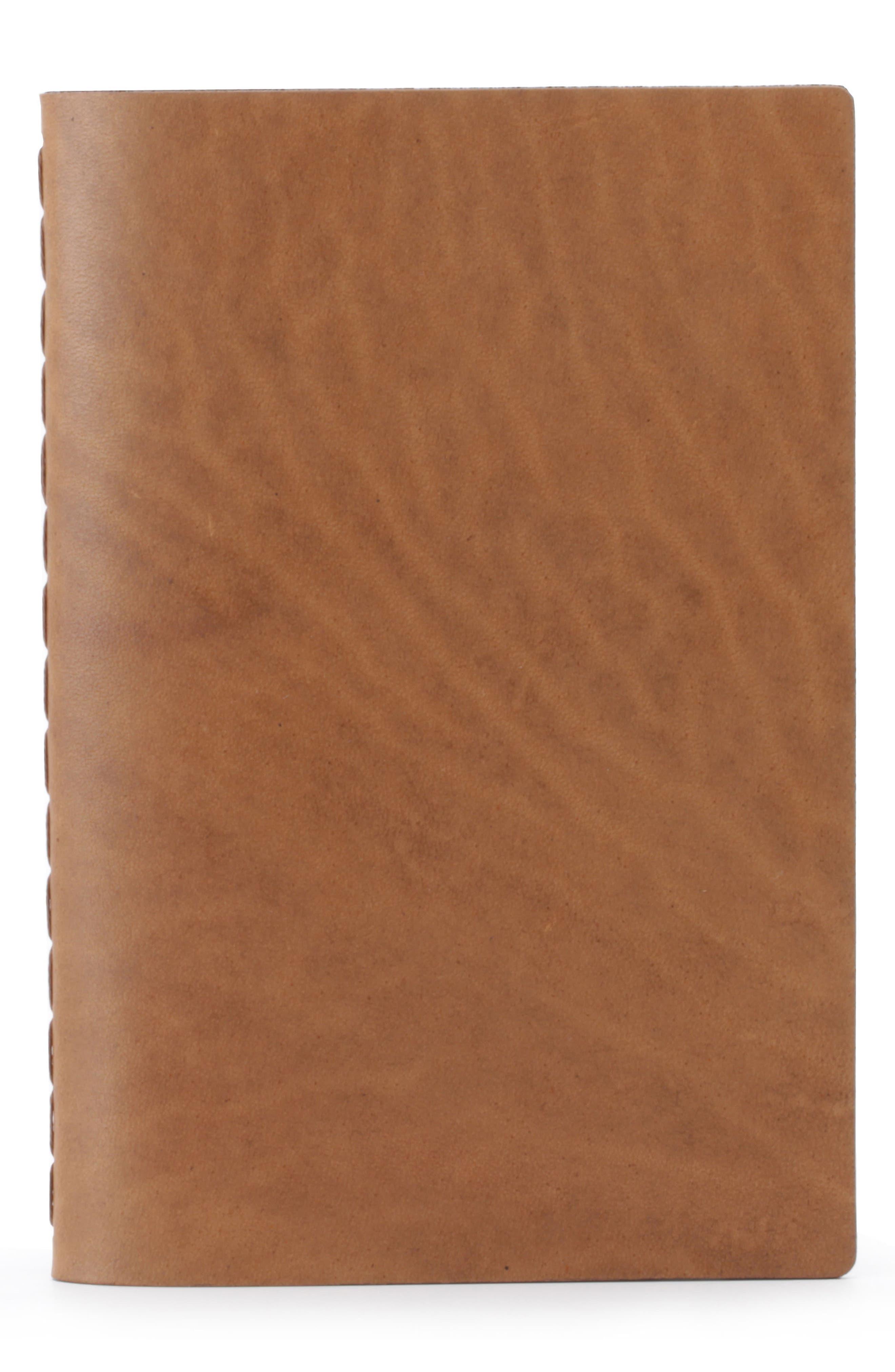 Ezra Arthur Medium Leather Notebook