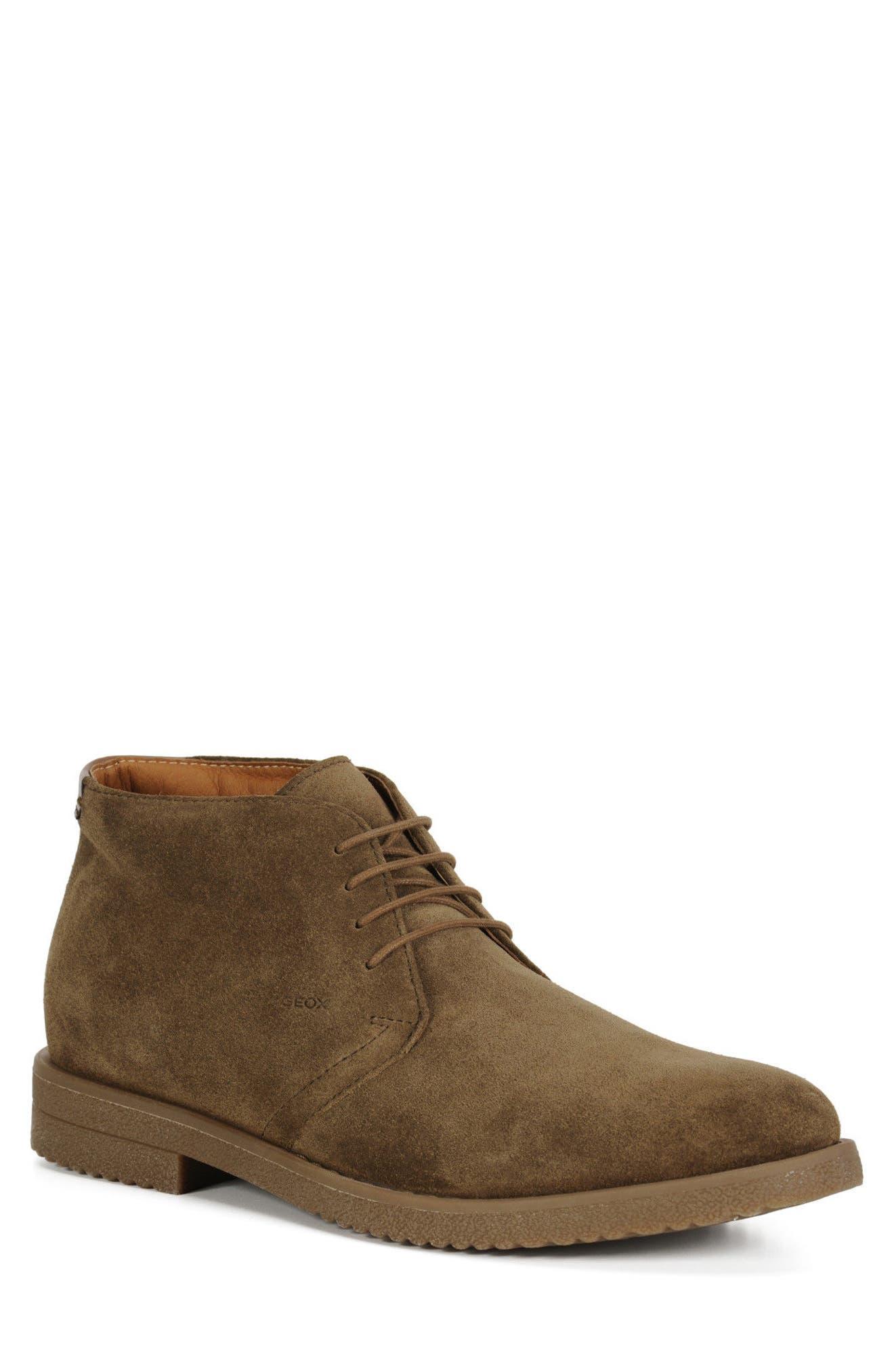 Geox Brandled Chukka Boot (Men)