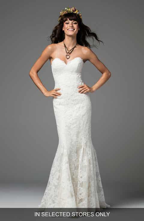 Mermaid/Trumpet Wedding Dresses | Nordstrom