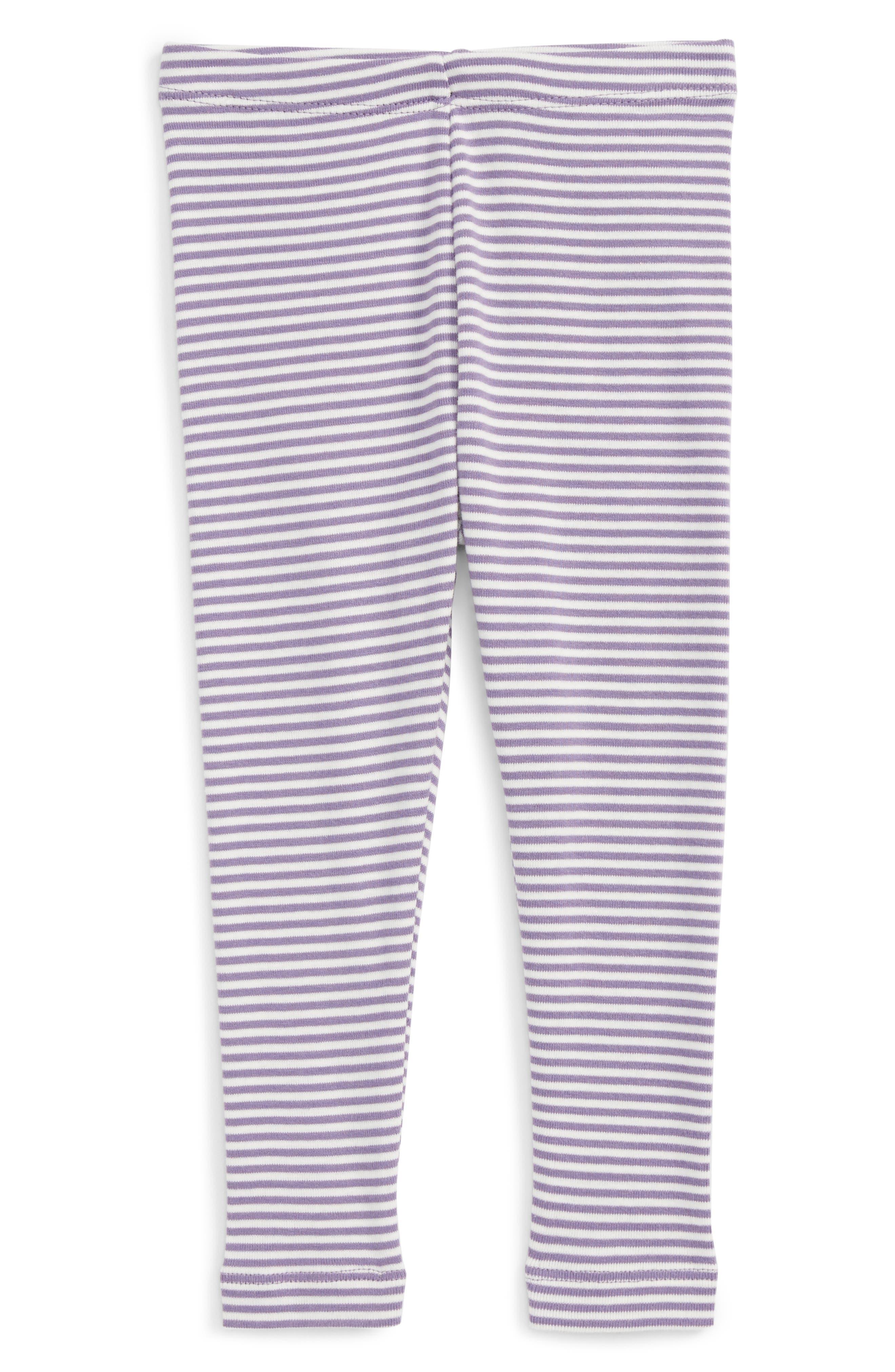 Tea Collection Stripe Leggings (Baby Girls)