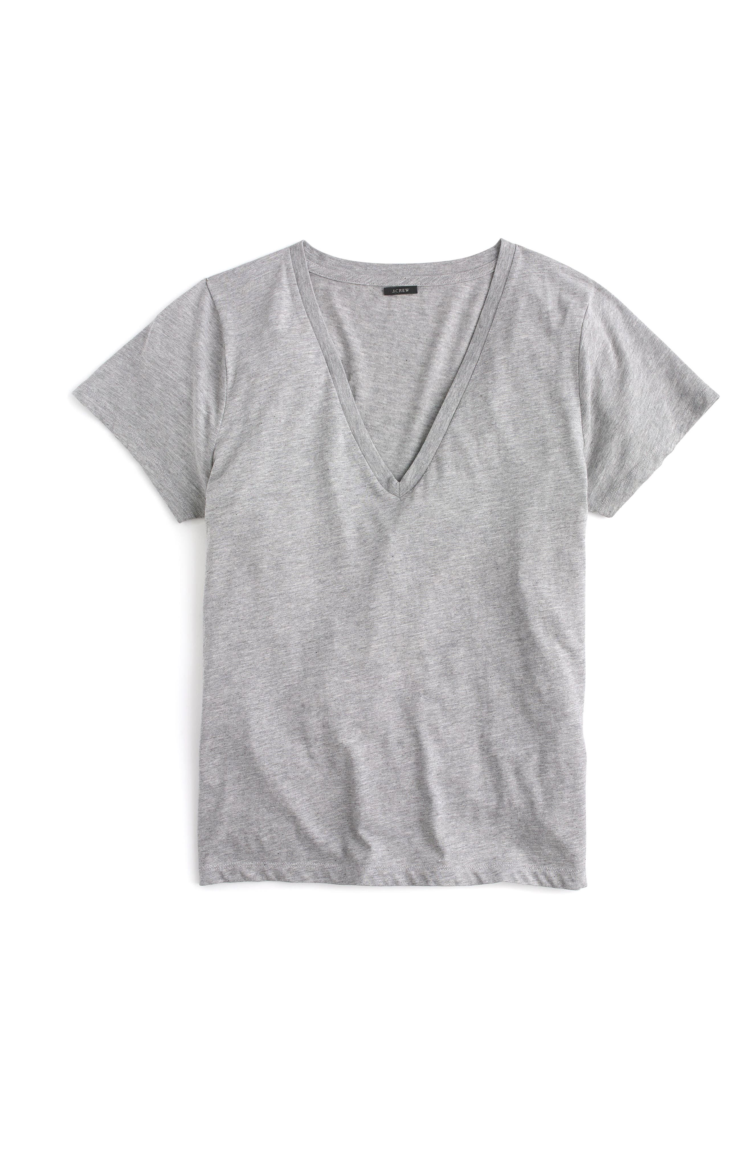 J.Crew Supima® Cotton V-Neck Tee