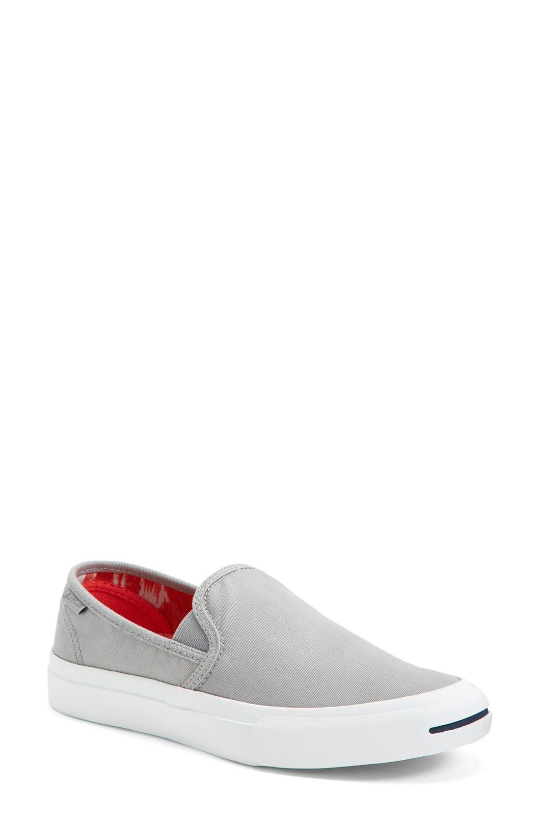 Main Image - Converse 'Jack Purcell' Washed Slip-On Sneaker (Women)