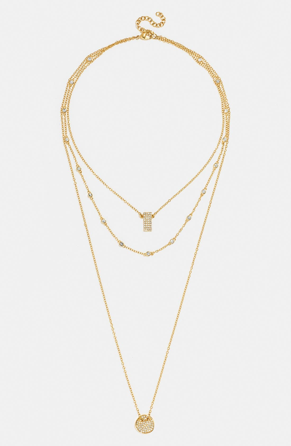 Alternate Image 2  - BaubleBar 'Ice' Layer Necklace