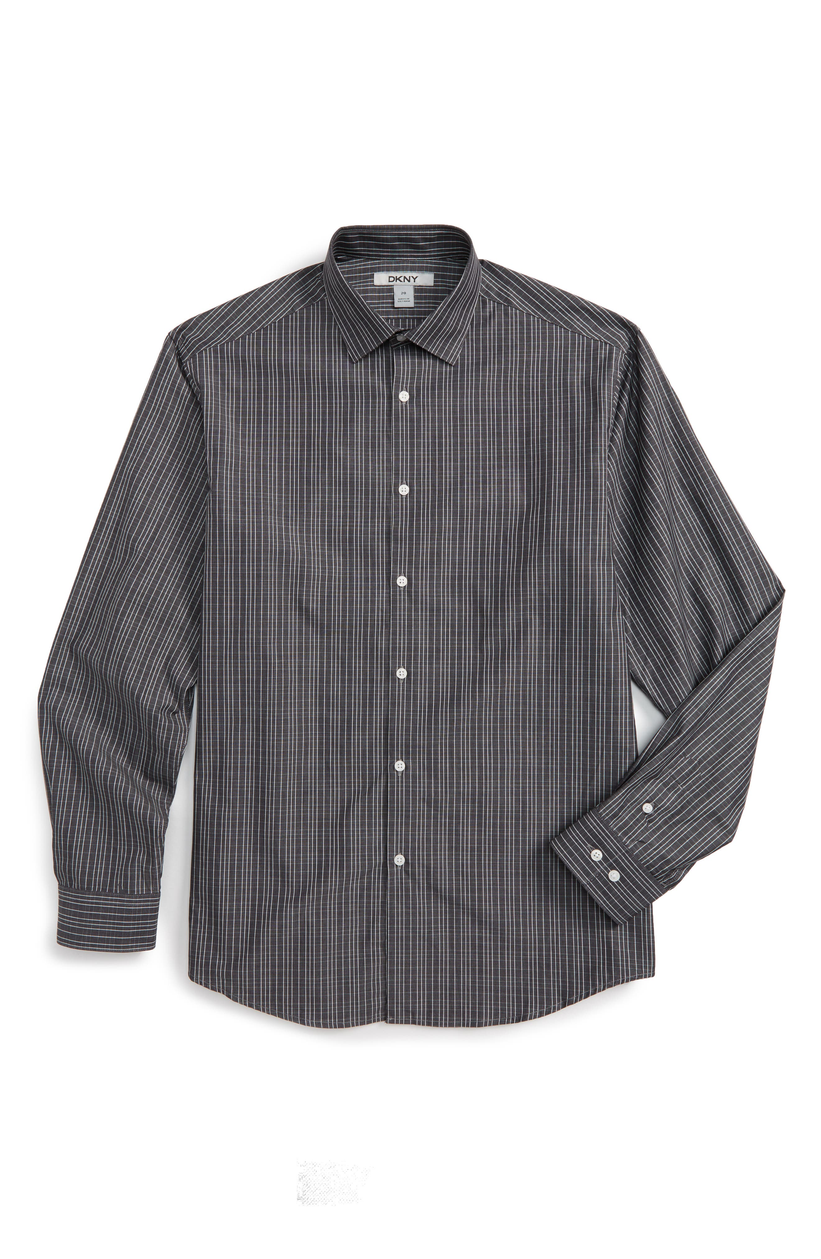 DKNY Stripe Dress Shirt (Big Boys)