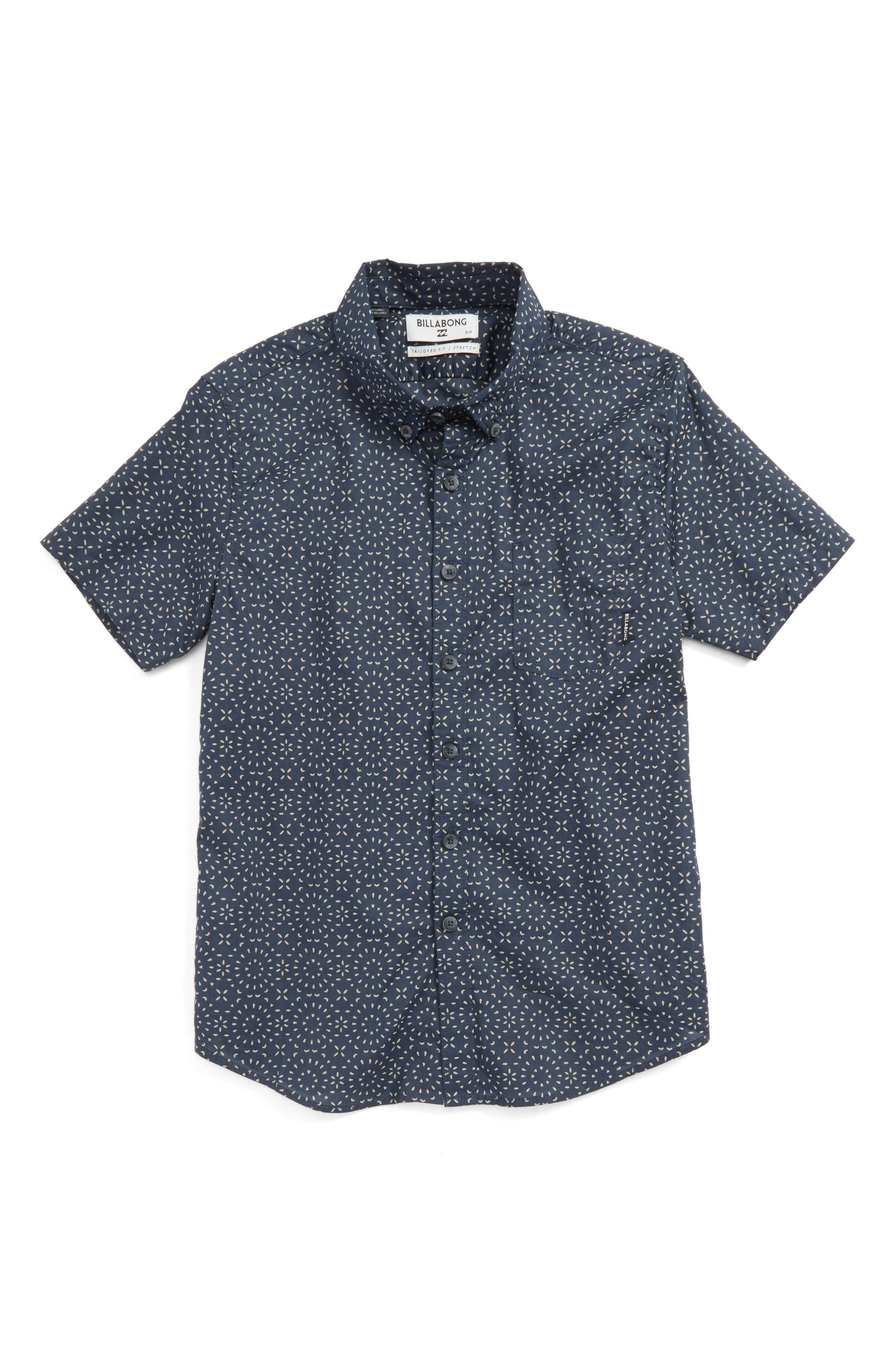 Billabong Sundays Mini Woven Shirt (Big Boys)