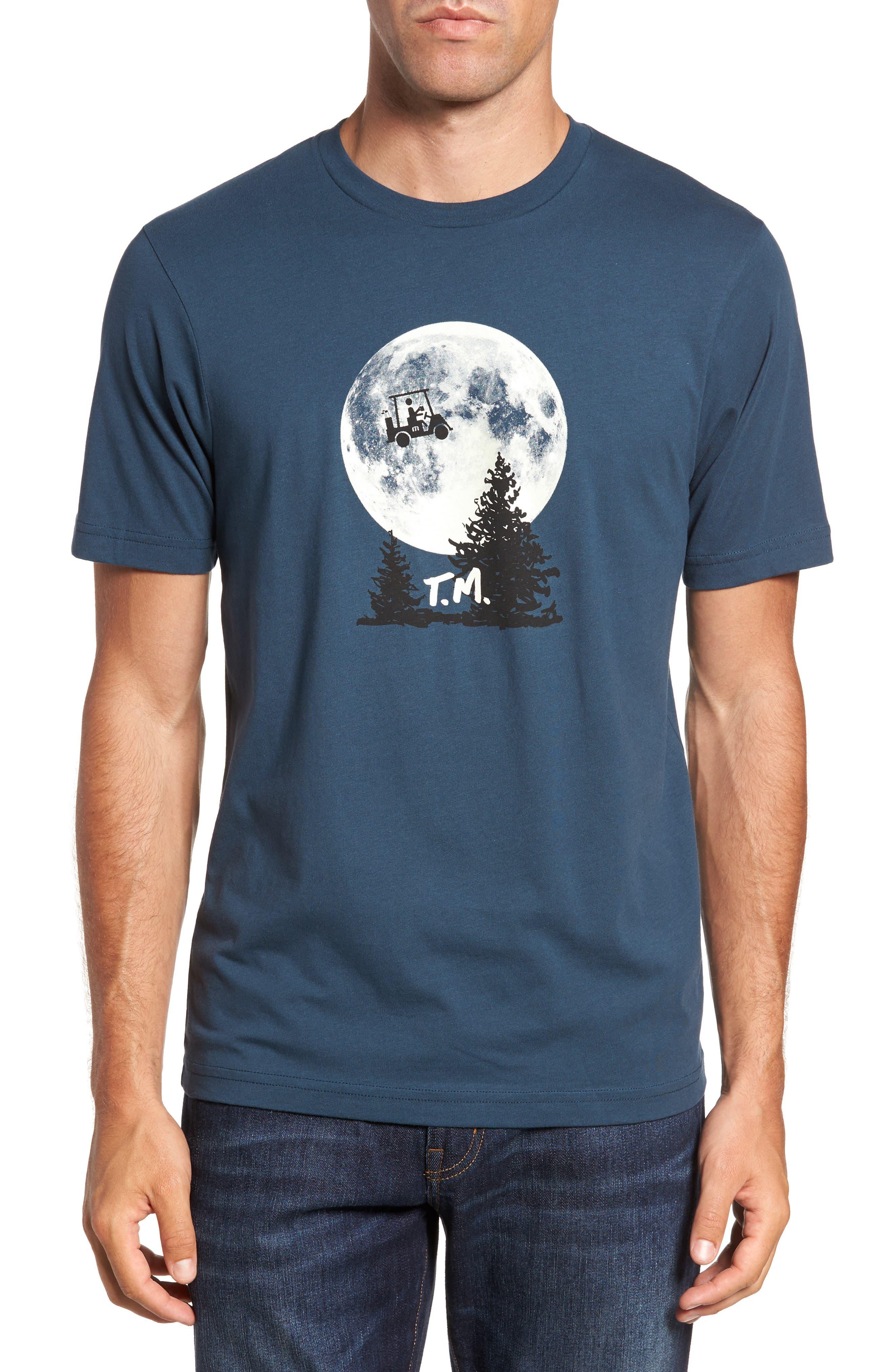 Travis Mathew 'Phone Home' Graphic T-Shirt