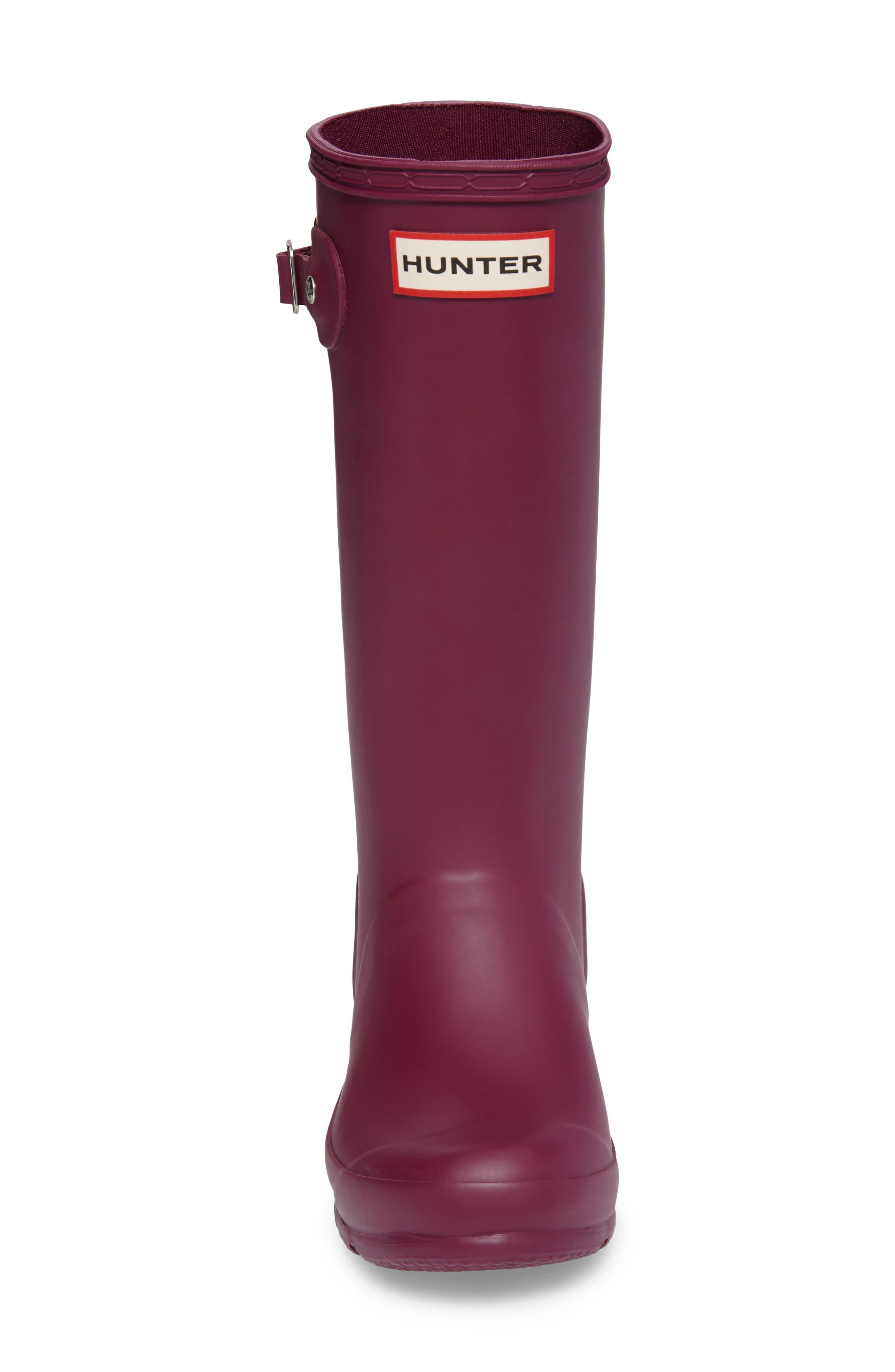 Alternate Image 4  - Hunter 'Original' Rain Boot (Little Kid & Big Kid)