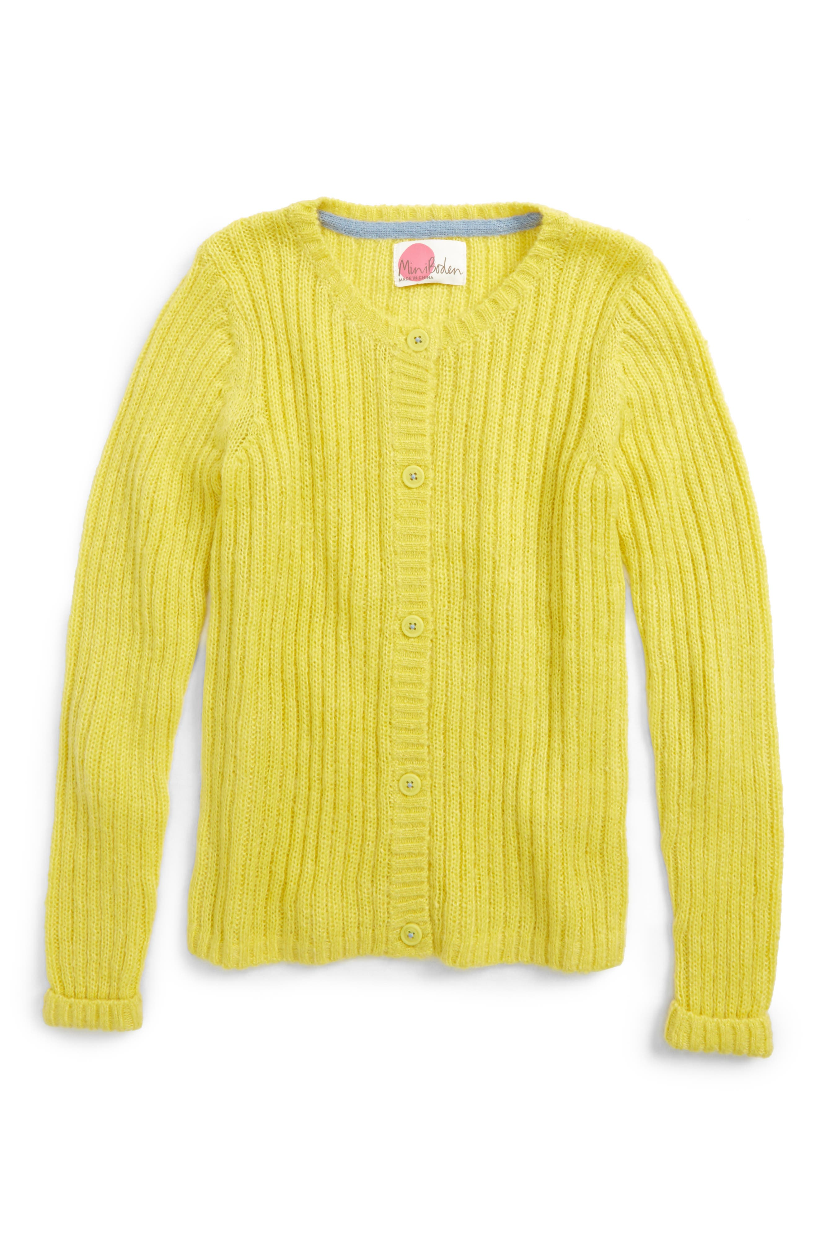 Mini Boden Cosy Everyday Cardigan (Toddler Girls, Little Girls & Big Girls)
