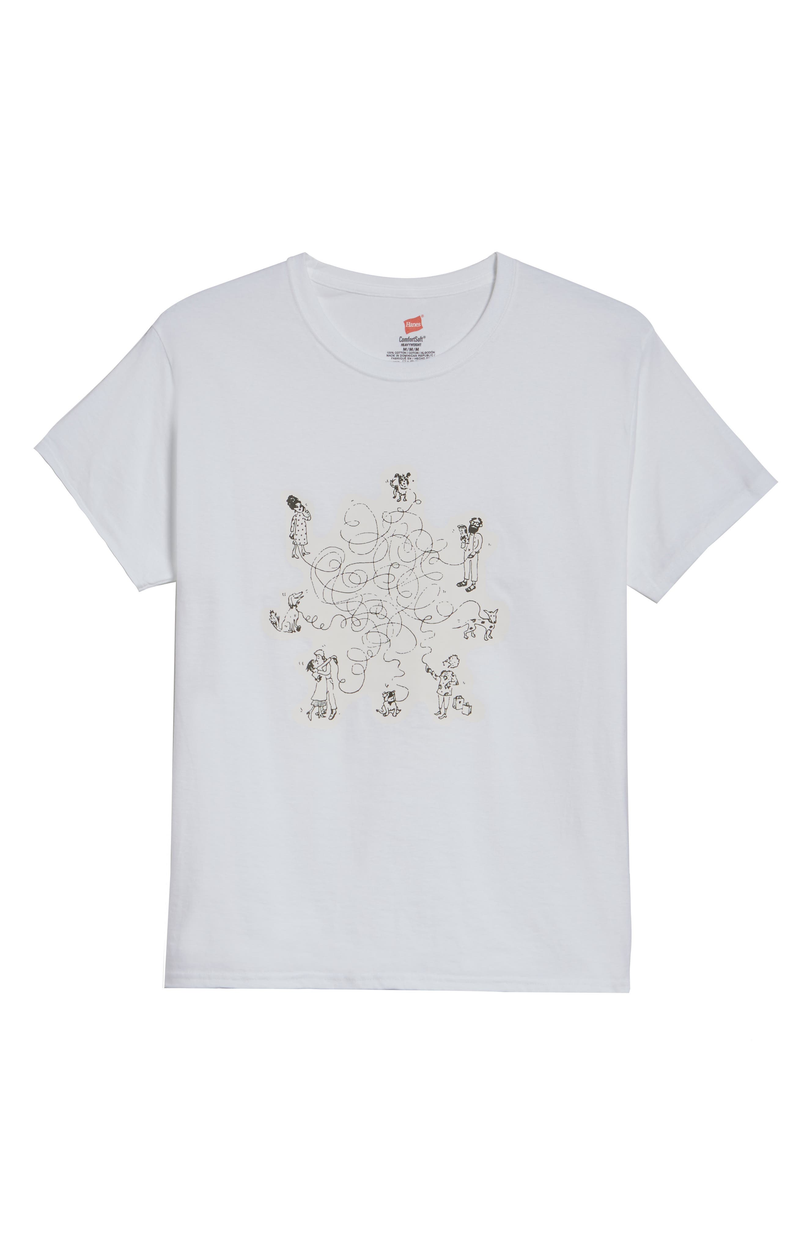 Joana Avillez Tangled Dog Walker Group Tee