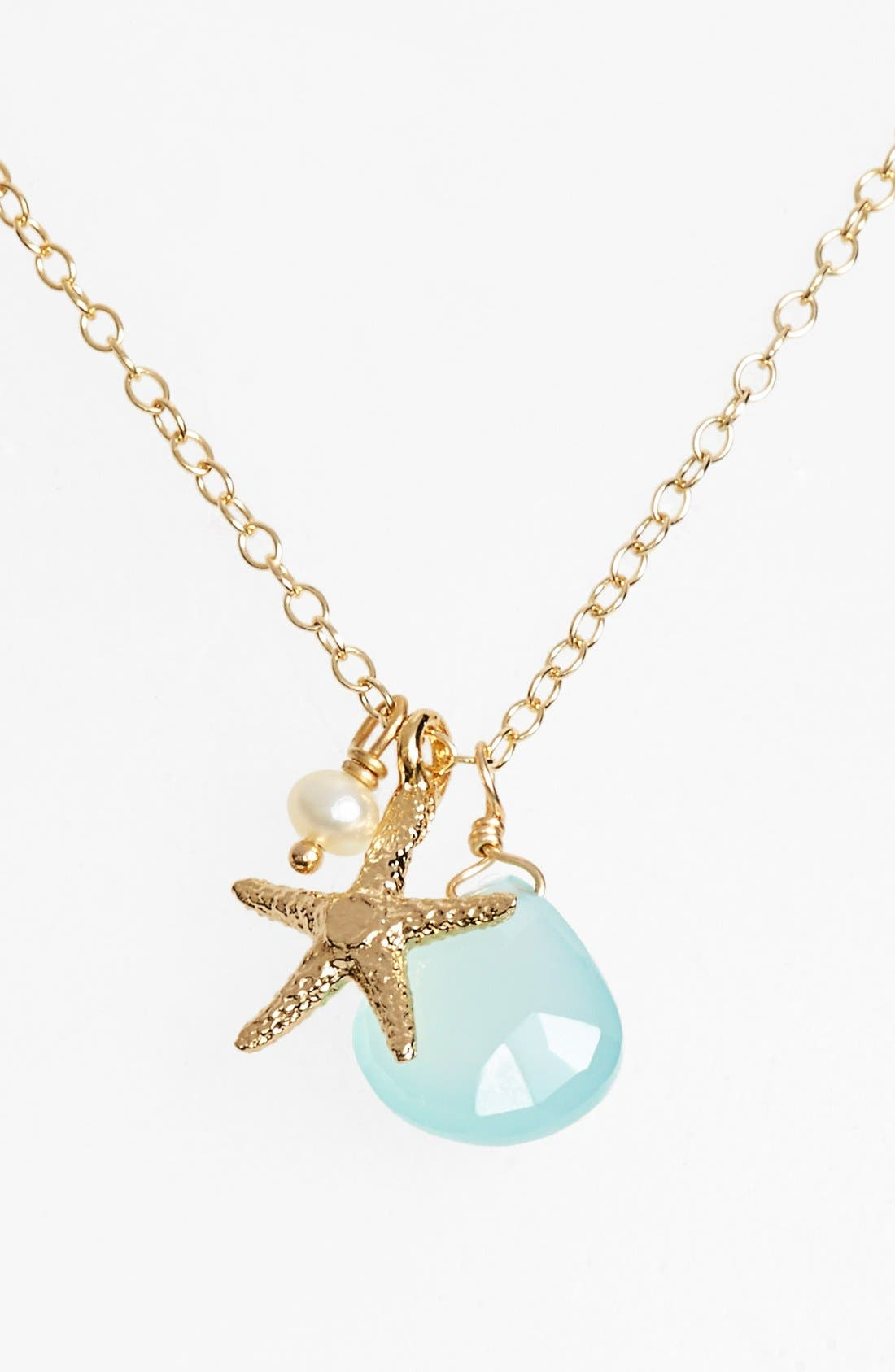 Alternate Image 1 Selected - ki-ele Sea Star Cluster Pendant Necklace