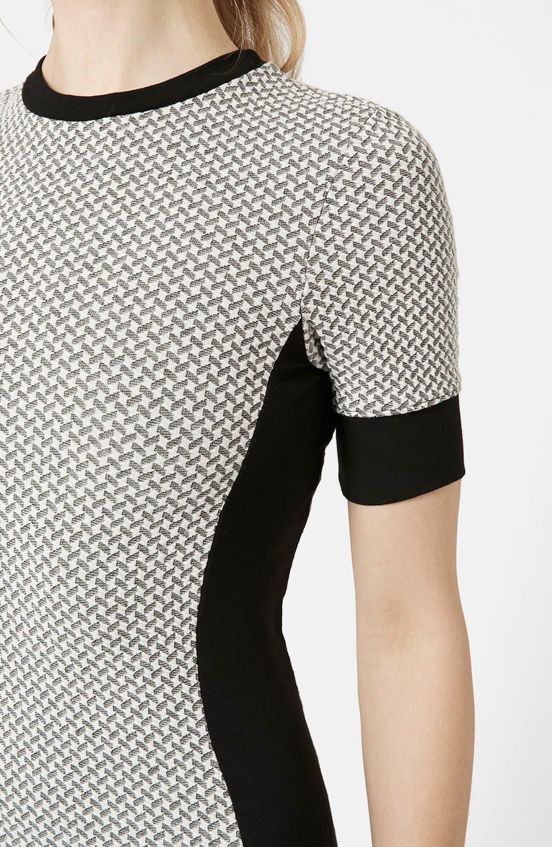 Alternate Image 4  - Topshop Geometric Print Body-Con Dress (Regular & Petite)