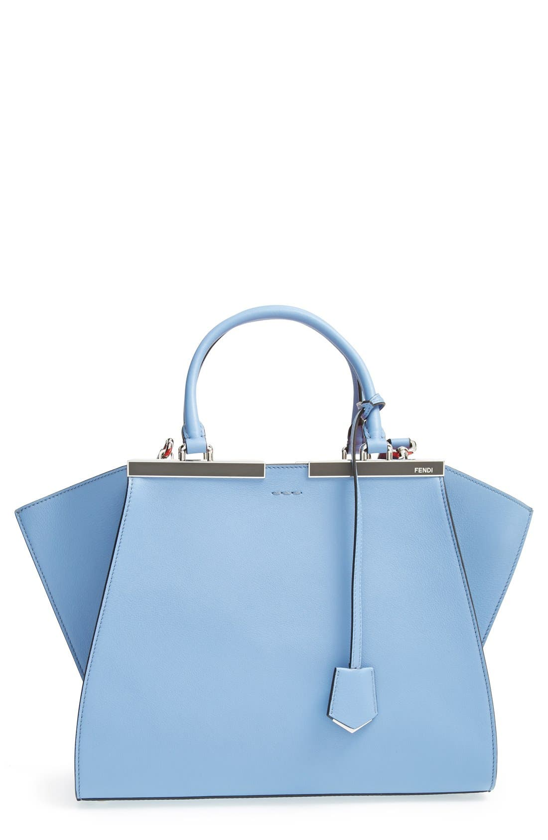 Main Image - Fendi '3Jours' Leather Shopper