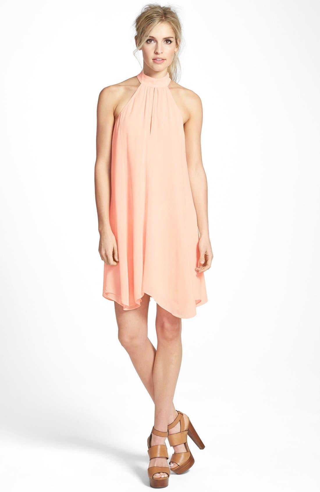 Alternate Image 1  - Tildon Halter A-Line Dress