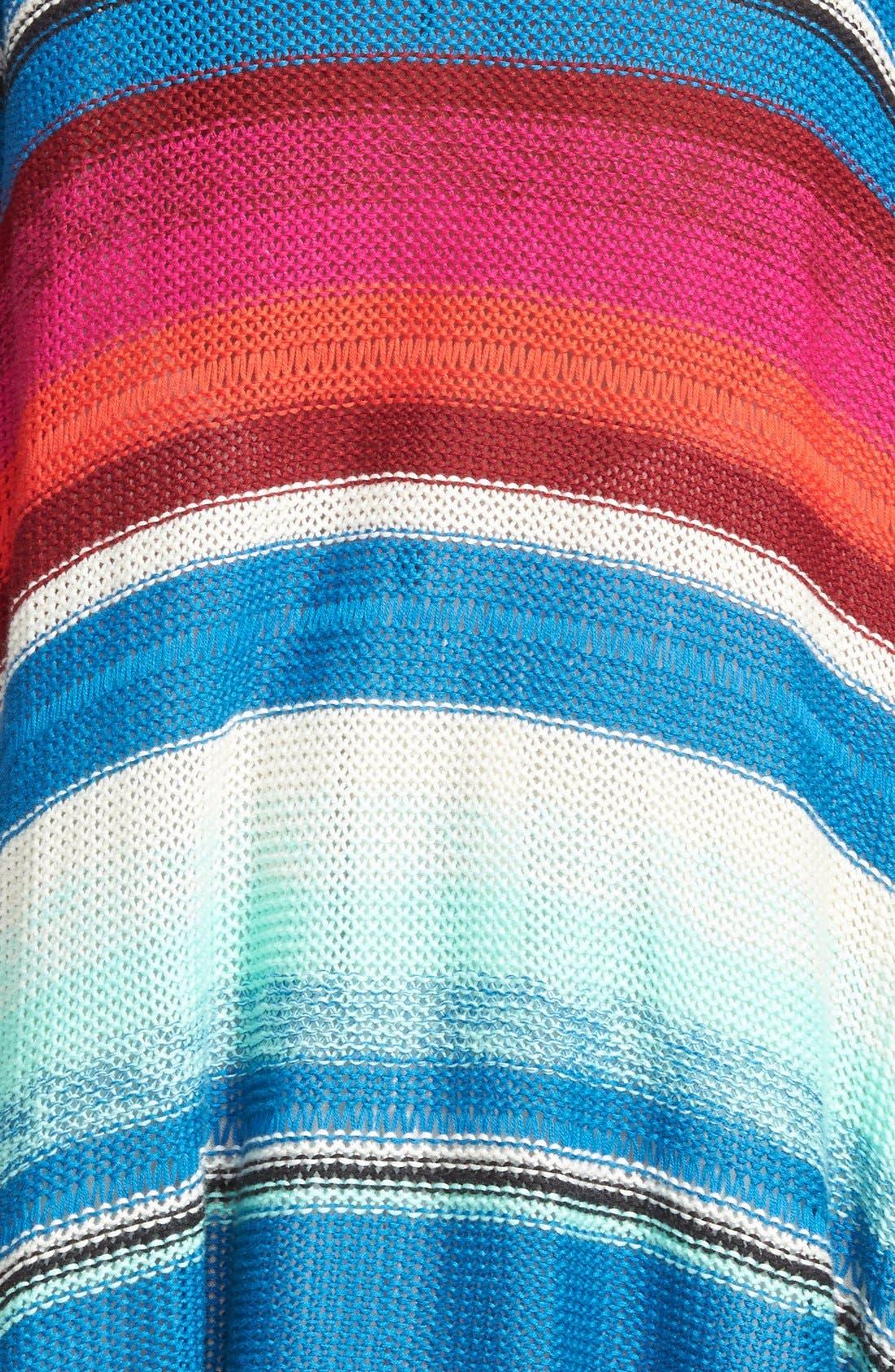 Alternate Image 3  - Billabong 'Beach Rambler' Stripe Cardigan