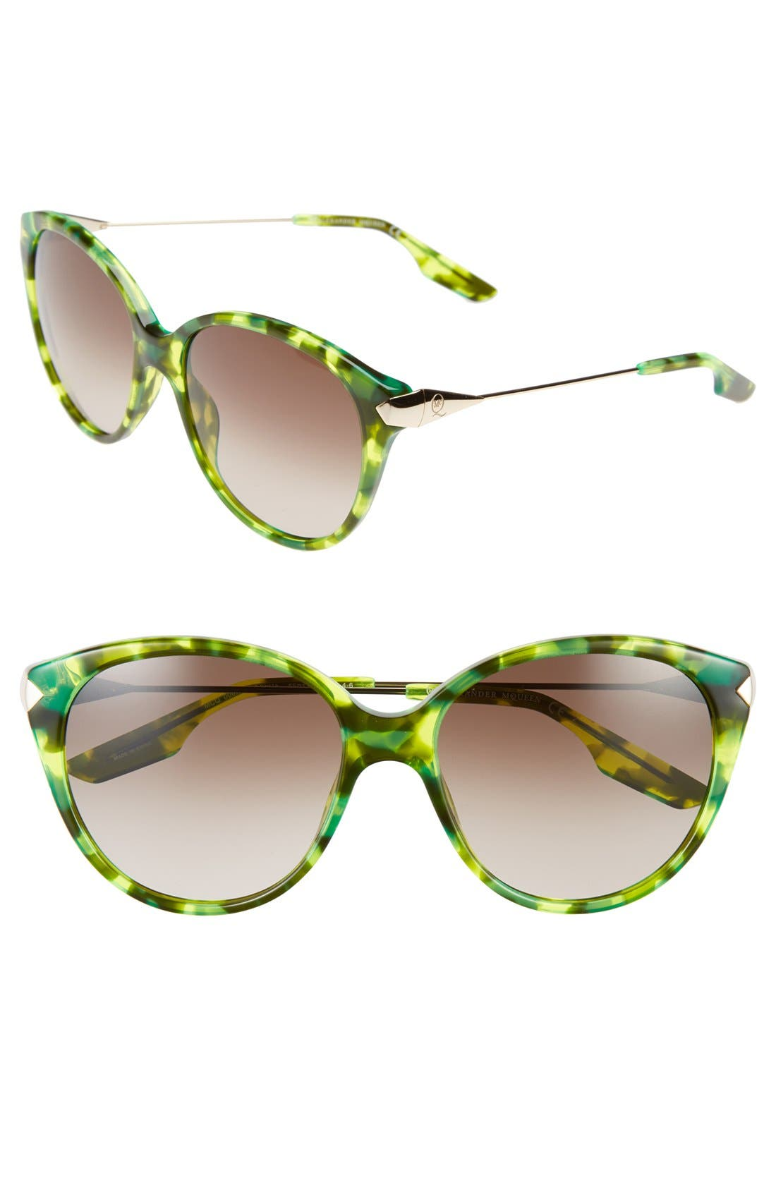 Alternate Image 1 Selected - McQ by Alexander McQueen 55mm Retro Sunglasses