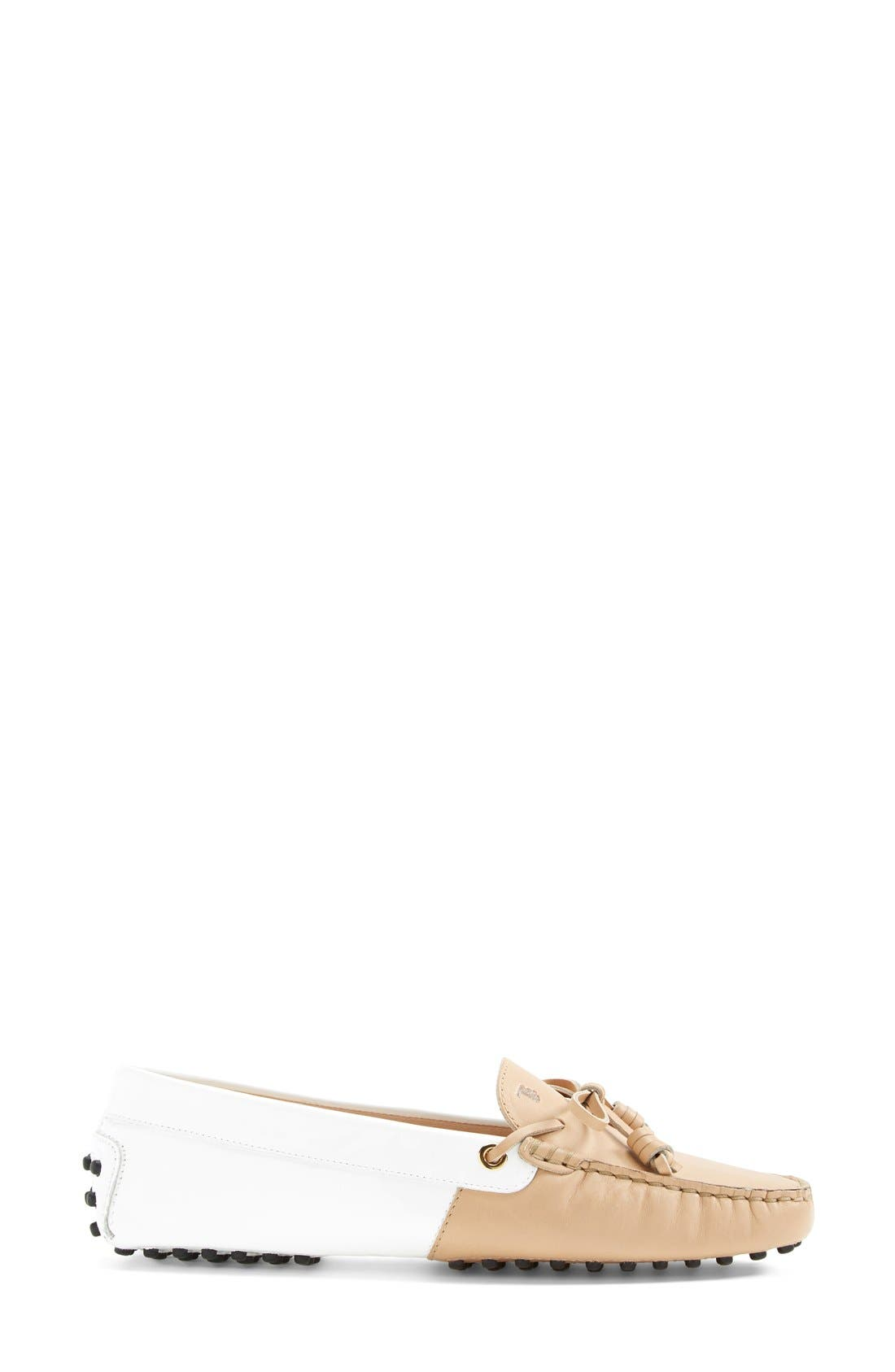 Alternate Image 4  - Tod's 'Gommini - Curly' Leather Driving Moccasin (Women)