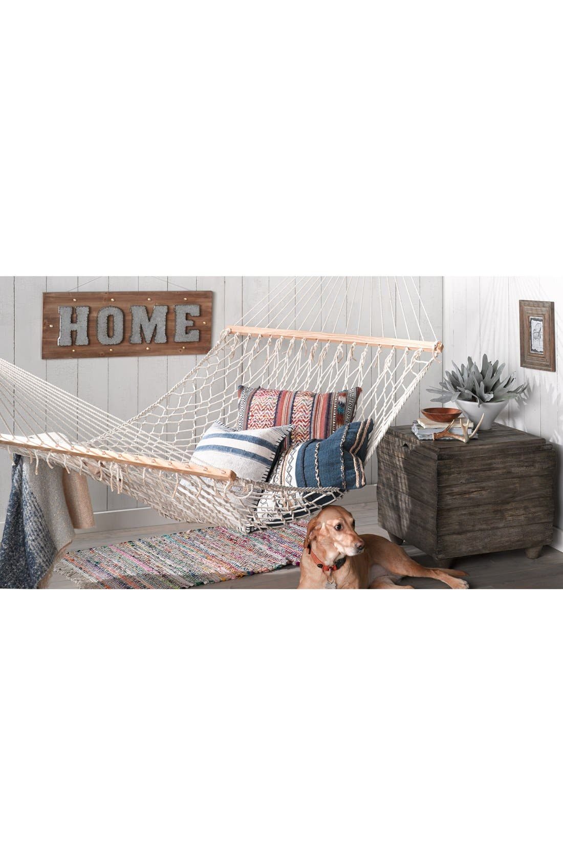 Alternate Image 2  - Crystal Art Gallery 'Home' Marquee Light Wooden Sign