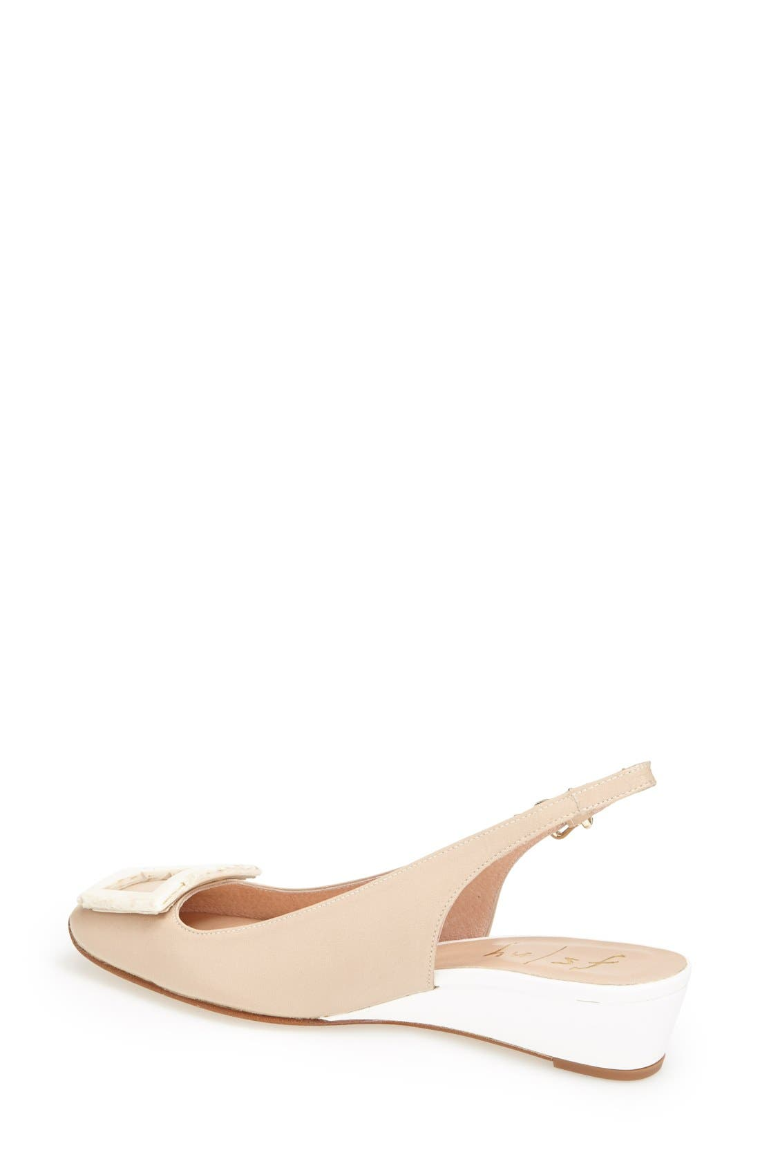 Alternate Image 2  - French Sole 'Noter' Slingback Wedge Pump (Women)