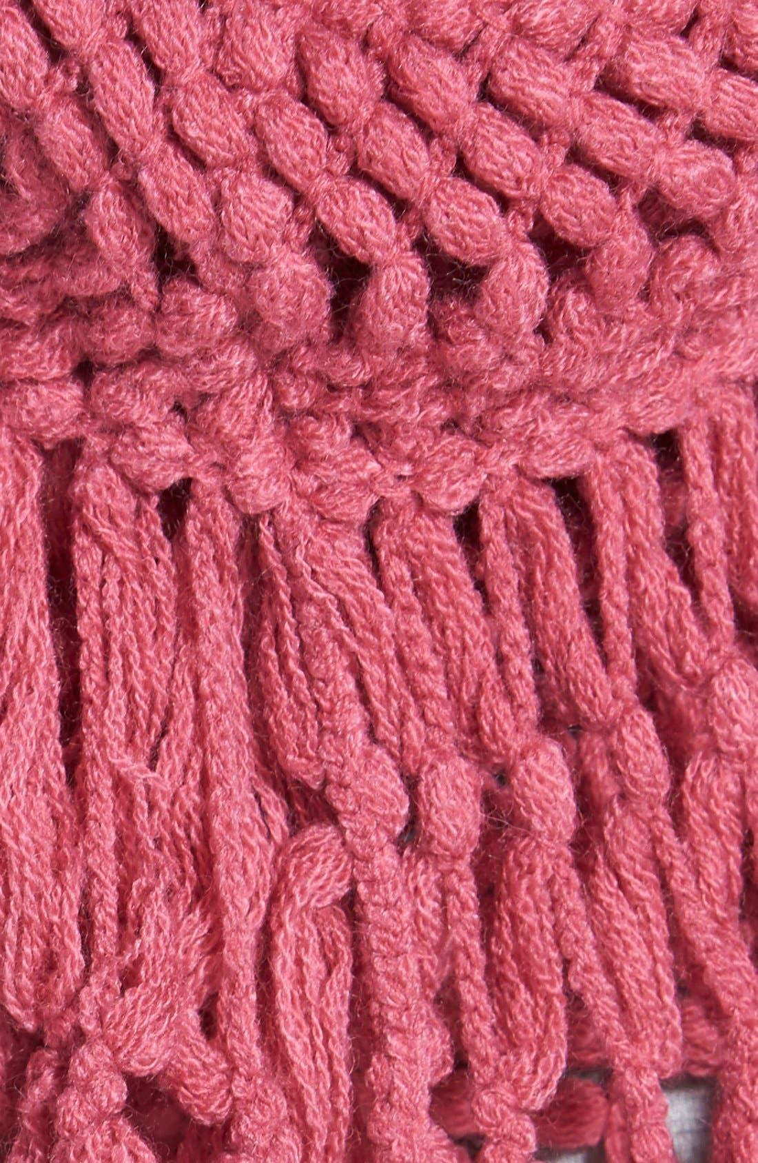 Alternate Image 3  - BP. Knotted Fringe Knit Infinity Scarf