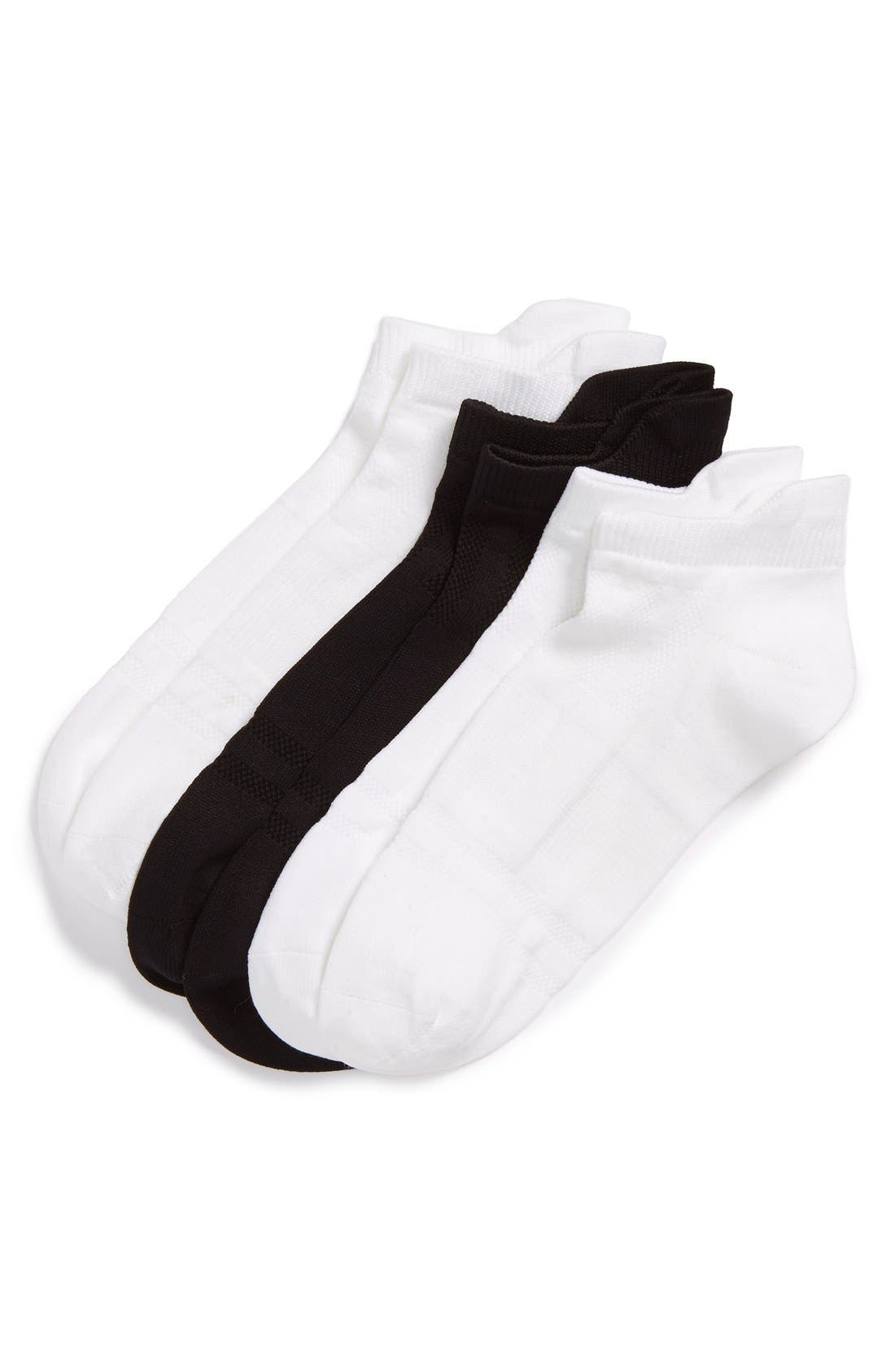 SOF SOLE 3-Pack Microfiber Tab Performance Socks