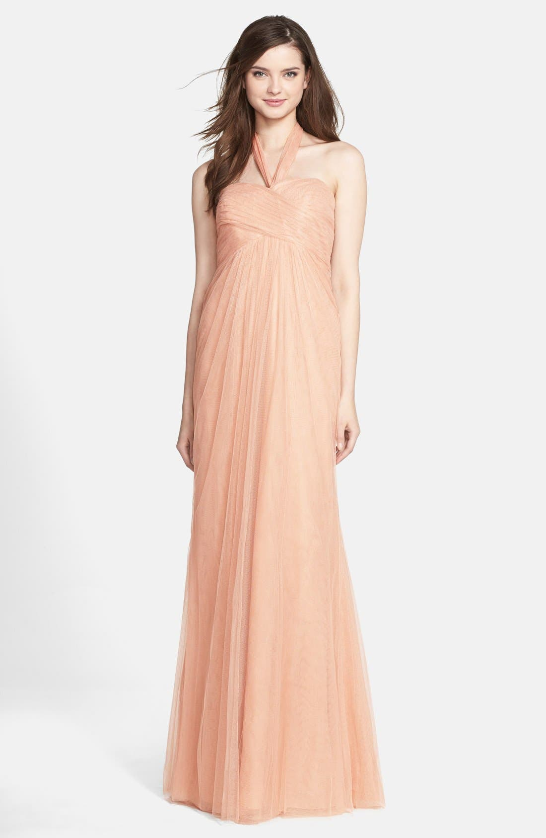 JENNY YOO 'Willow' Convertible Tulle Gown