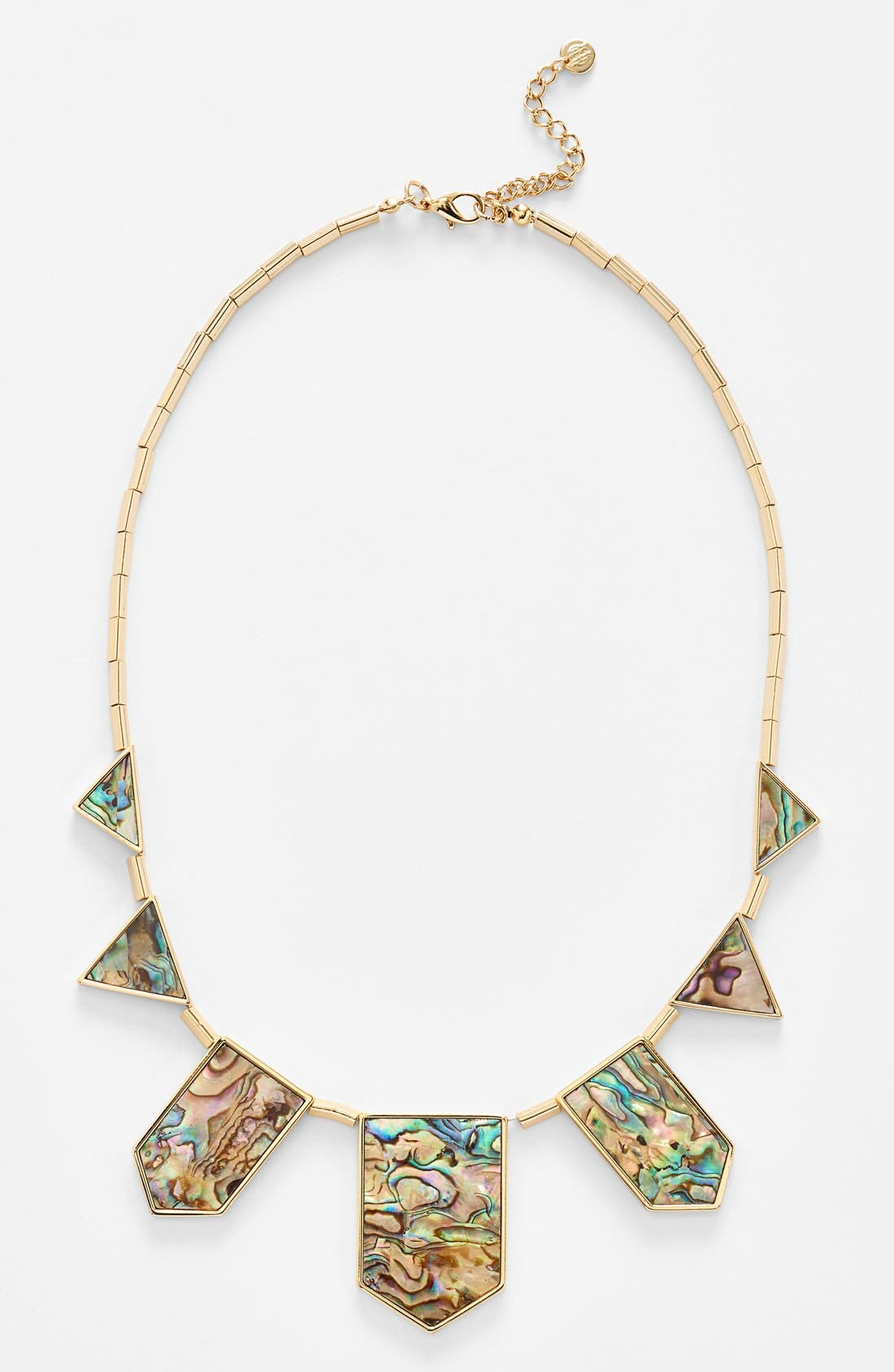 Alternate Image 1 Selected - House of Harlow 1960 Abalone Station Necklace