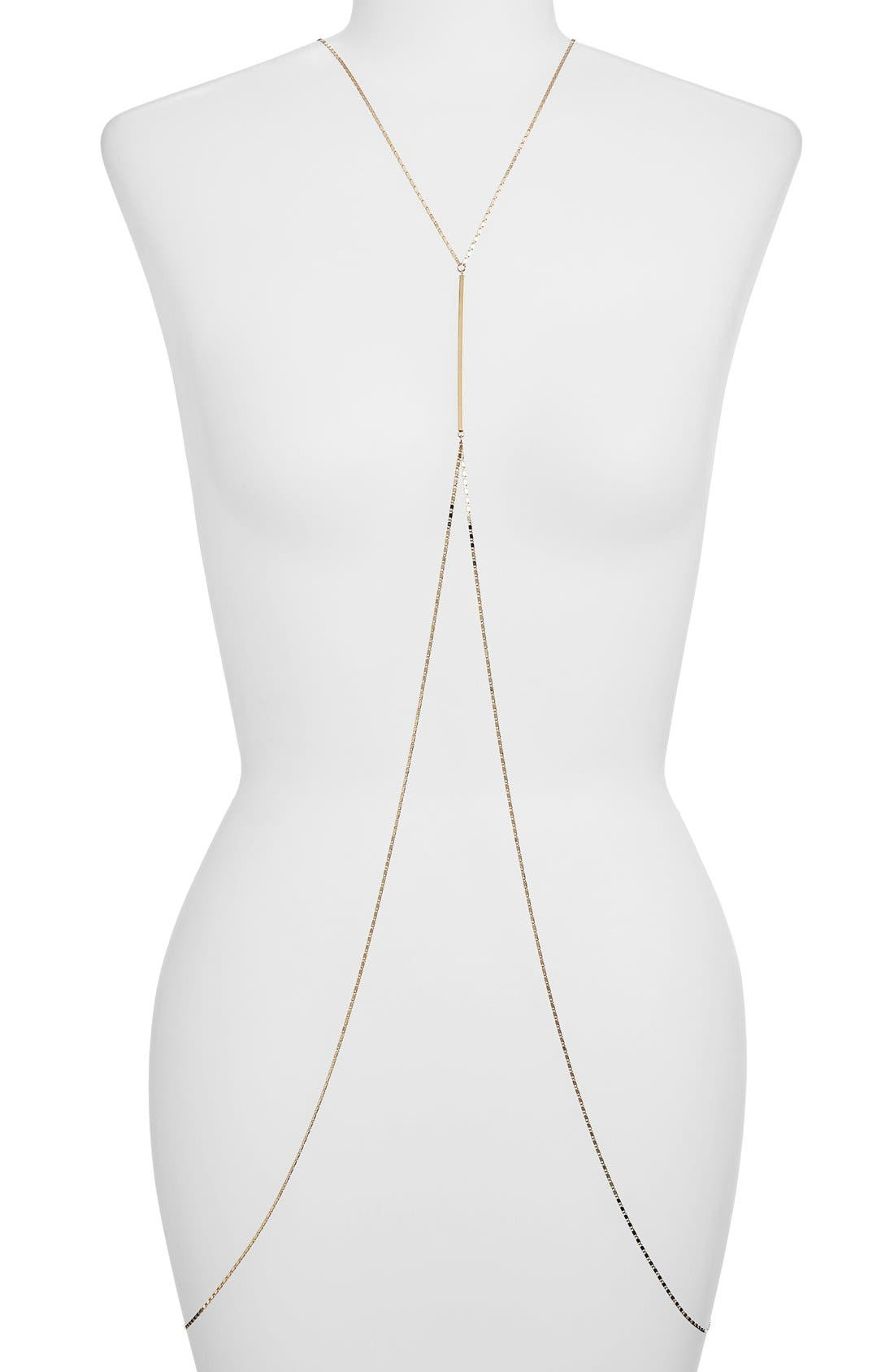 Alternate Image 1 Selected - Girly Body Chain