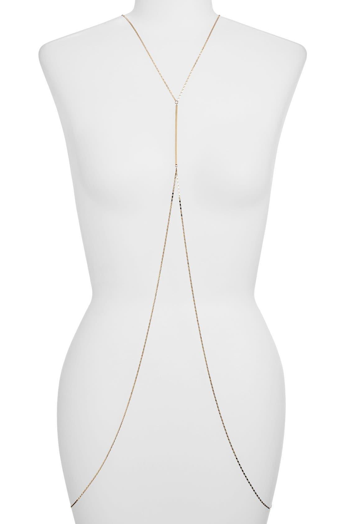 Main Image - Girly Body Chain