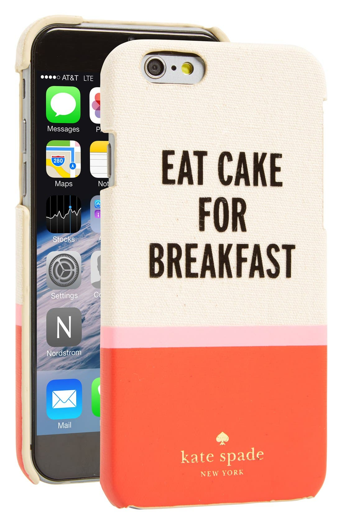 Main Image - kate spade new york 'eat cake for breakfast' iPhone 6 & 6s case