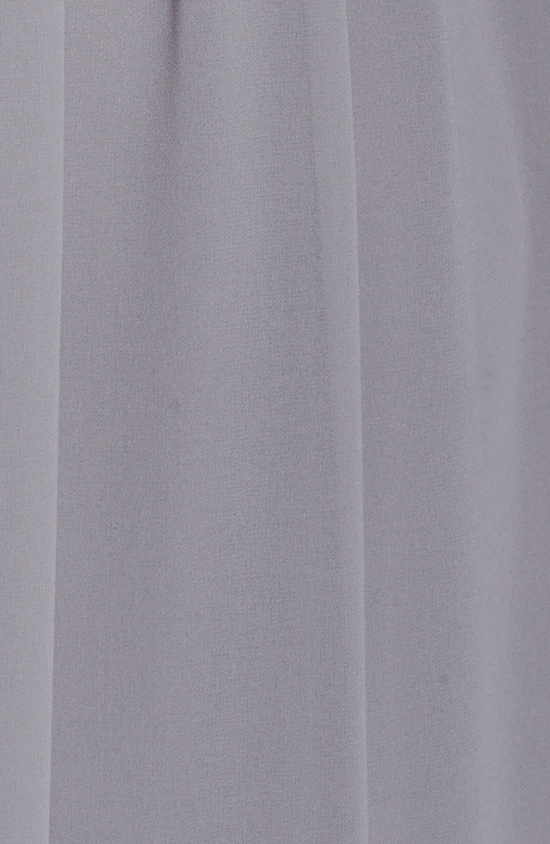 Alternate Image 3  - Donna Morgan 'Rachel' Ruched One-Shoulder Chiffon Gown