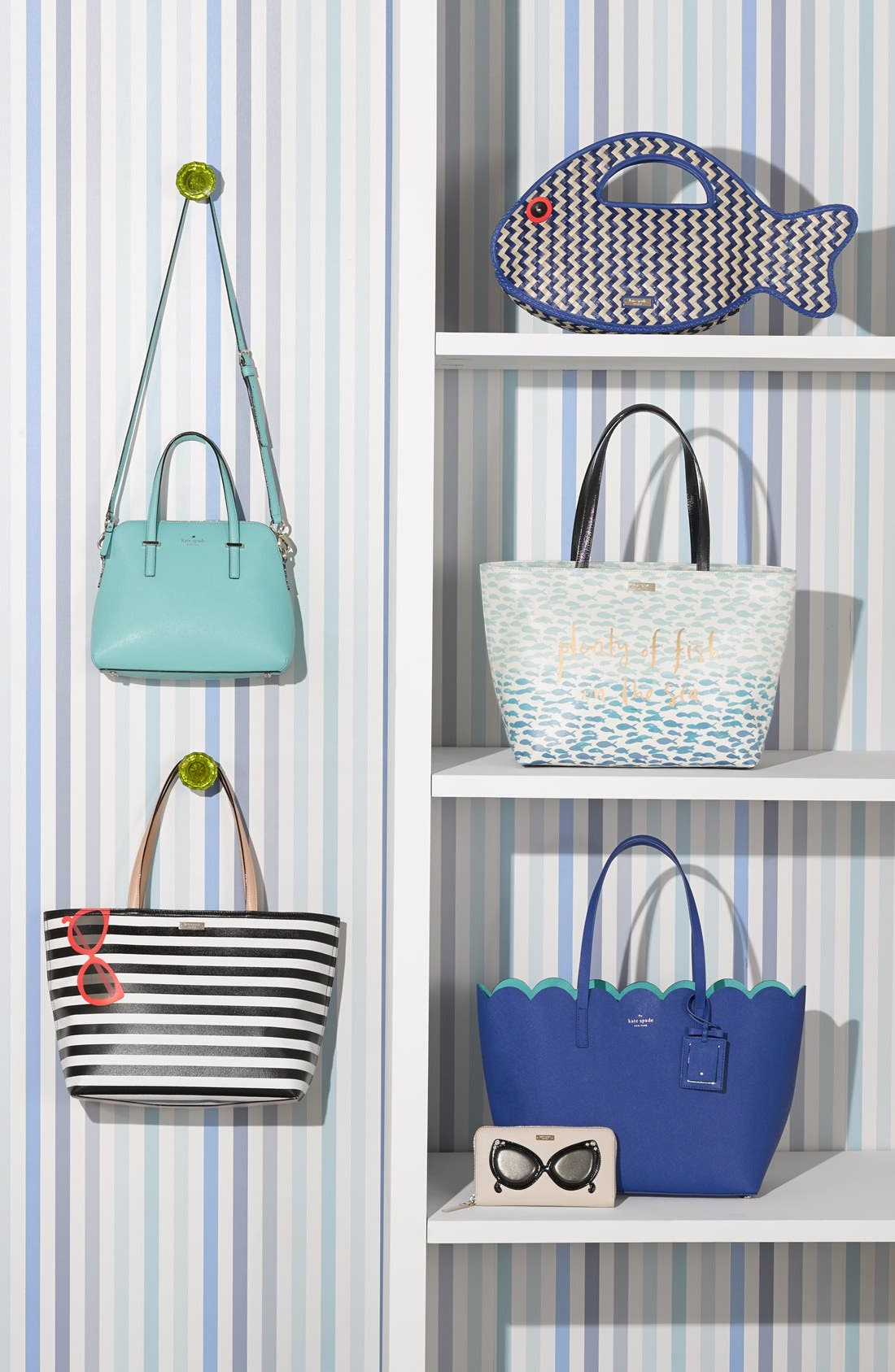 Alternate Image 9  - kate spade new york 'splash out - francis' tote