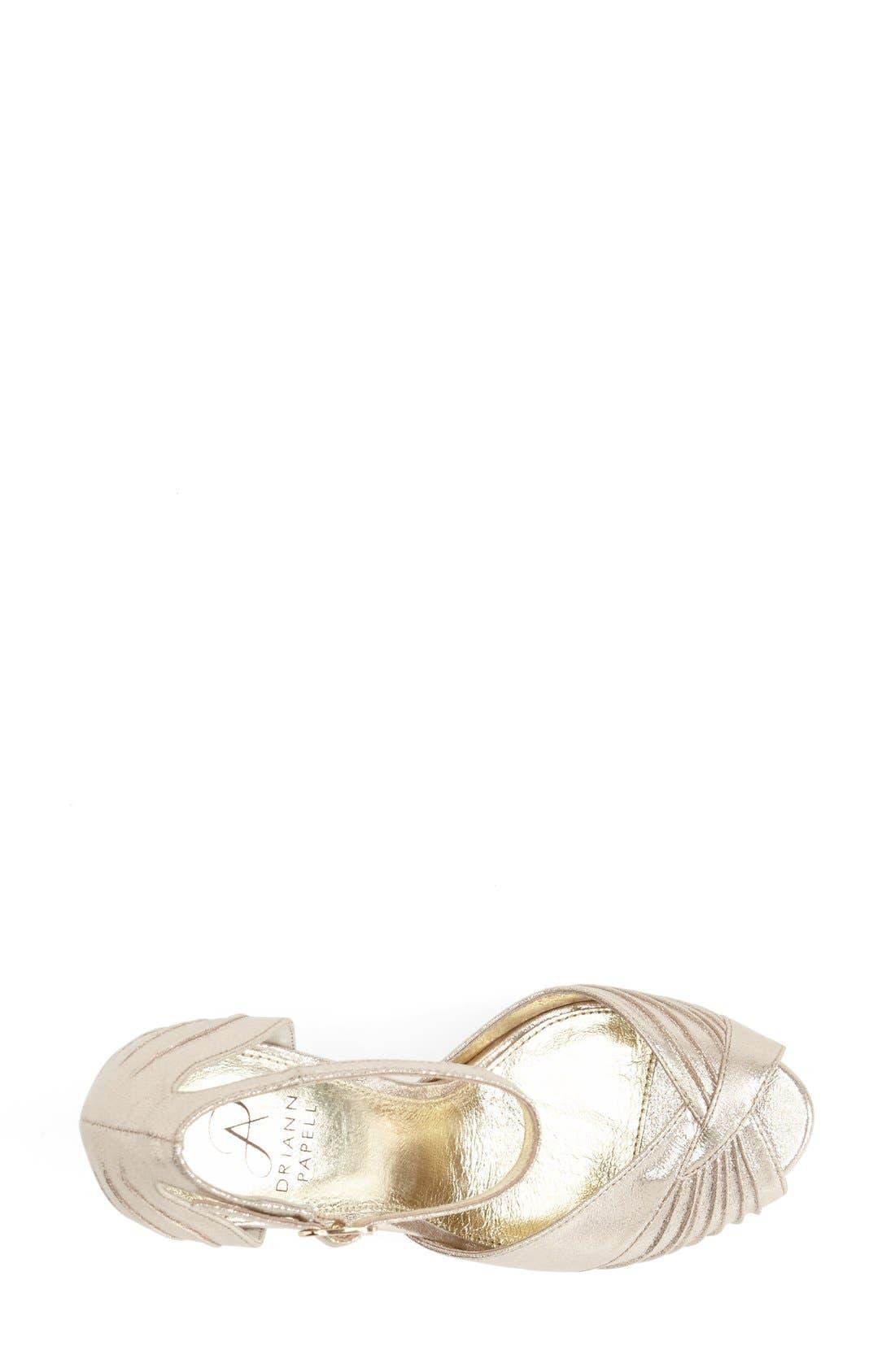 Alternate Image 3  - Adrianna Papell 'Rebecca' Platform Sandal (Women)