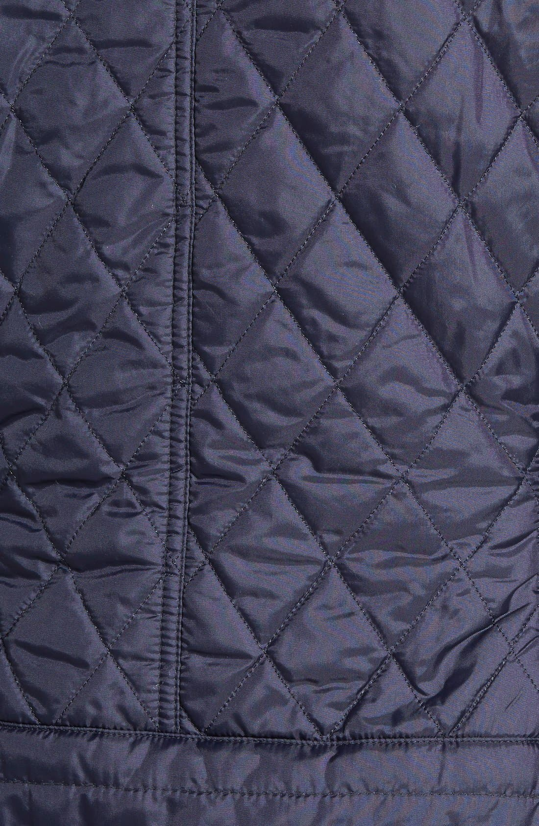 Alternate Image 3  - Barbour 'Jody' Quilted Moto Jacket