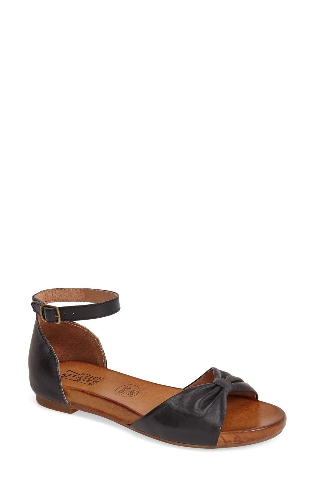Alternate Image 1 Selected - Miz Mooz 'Arlene' Ankle Strap Sandal (Women)