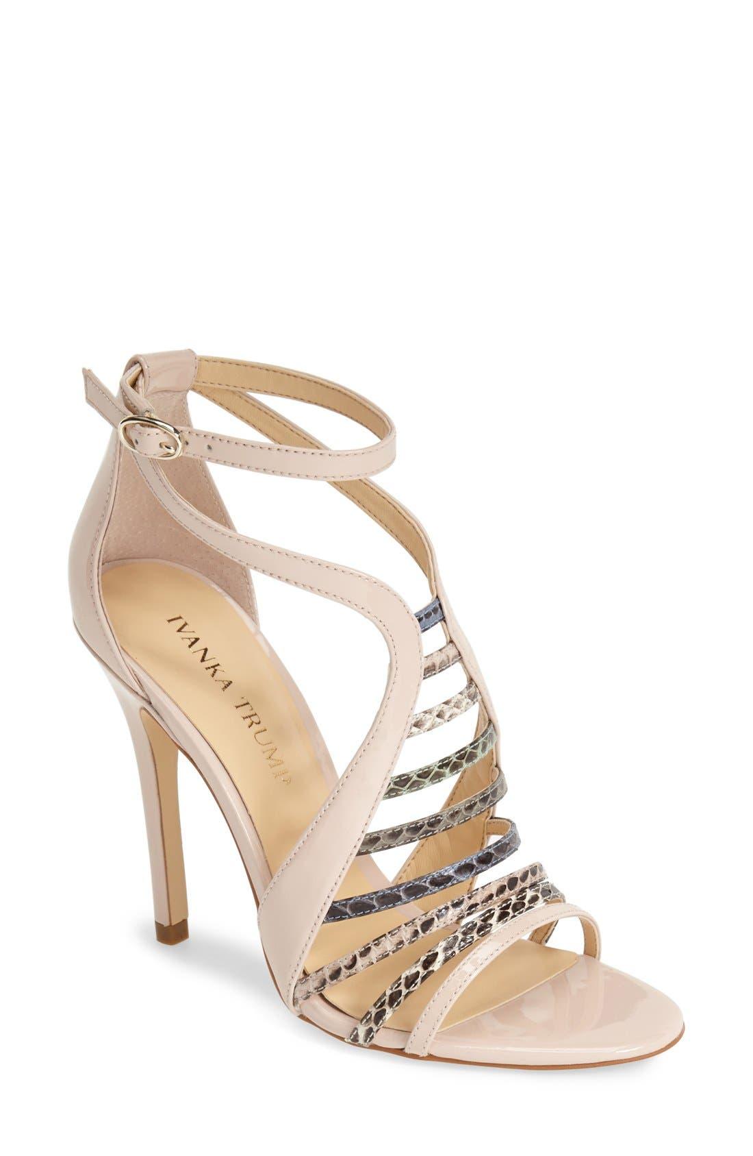Alternate Image 1 Selected - Ivanka Trump 'Hayze' Ankle Strap Sandal (Women)