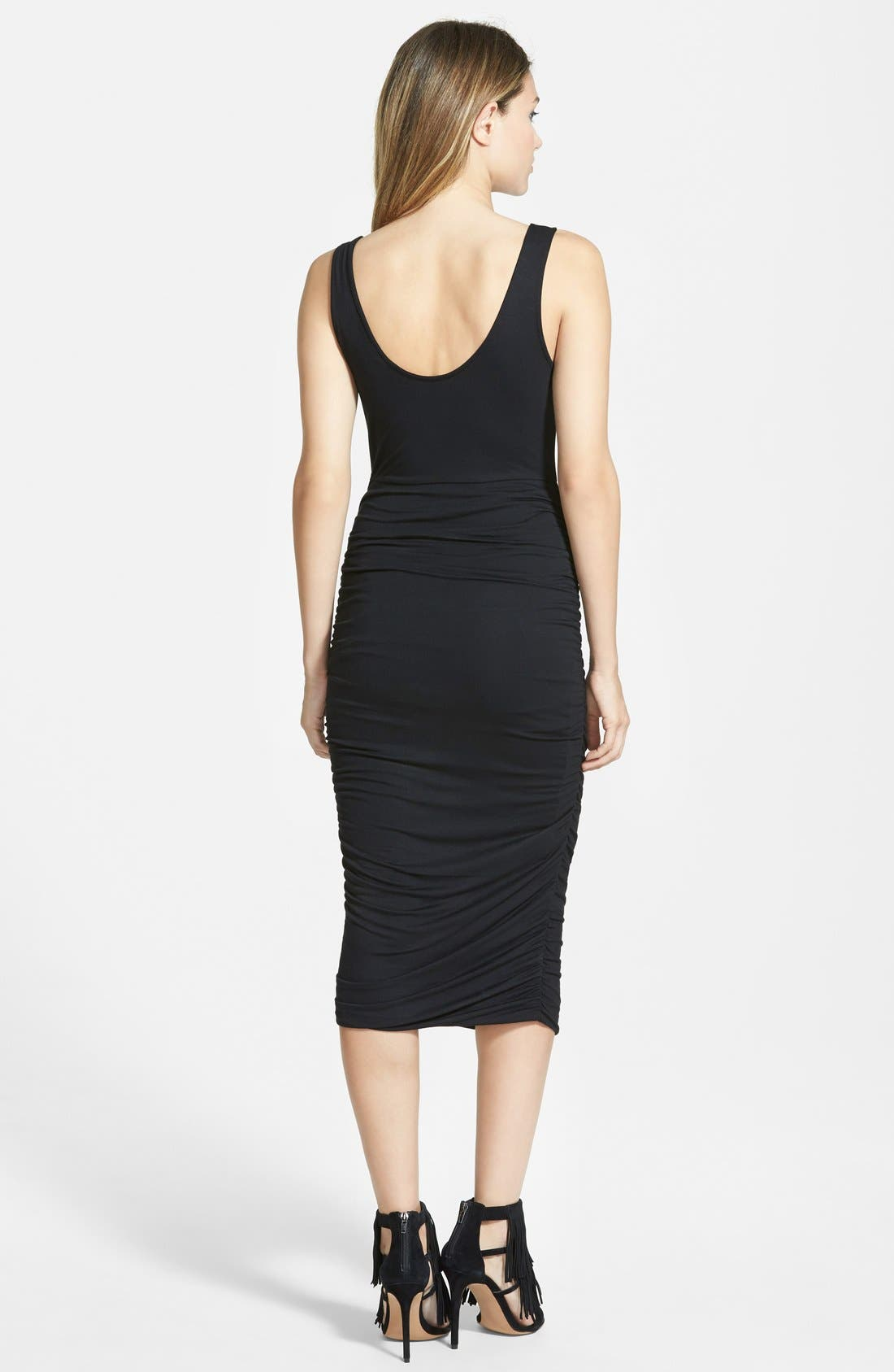 Alternate Image 2  - Leith Ruched Tank Dress