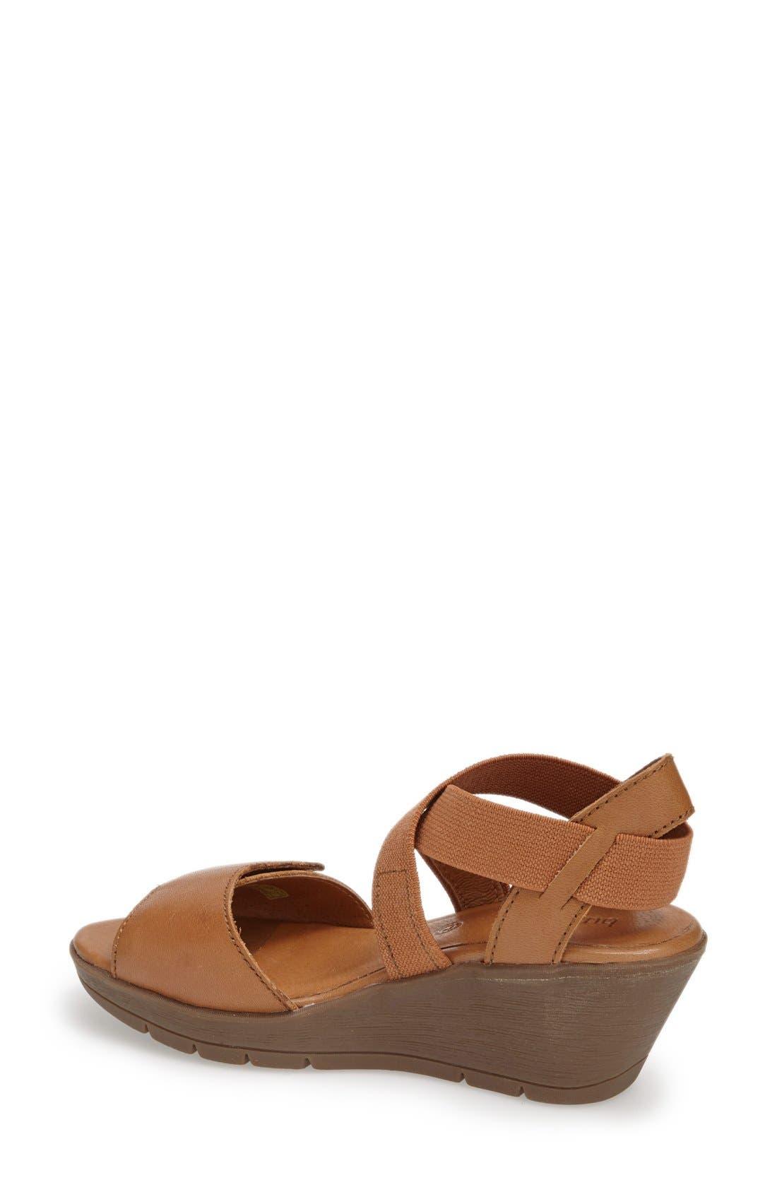 Alternate Image 2  - Bussola 'Zumaia' Wedge Sandal (Women)