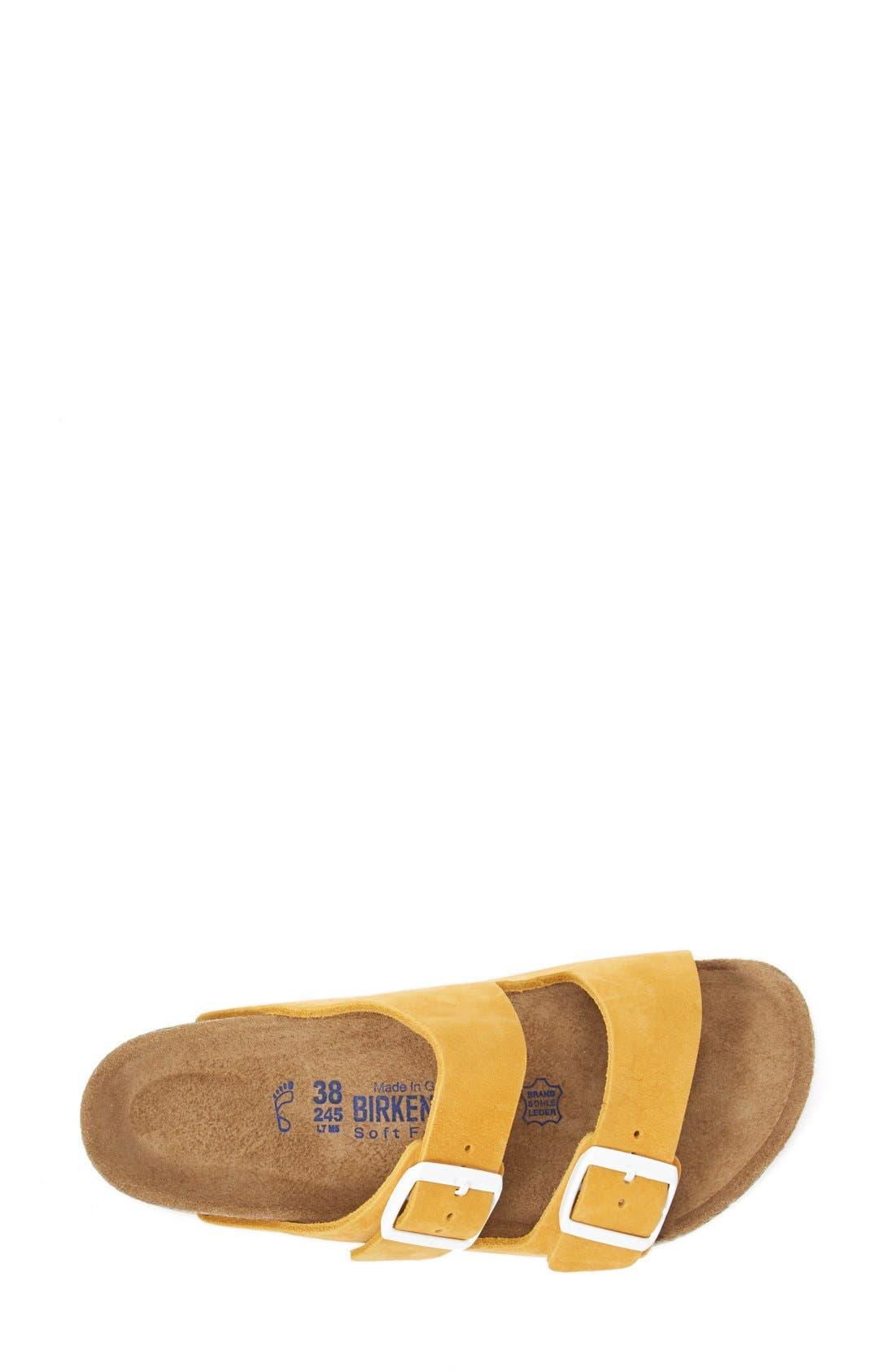 Alternate Image 3  - Birkenstock 'Arizona' Soft Footbed Sandal (Women)