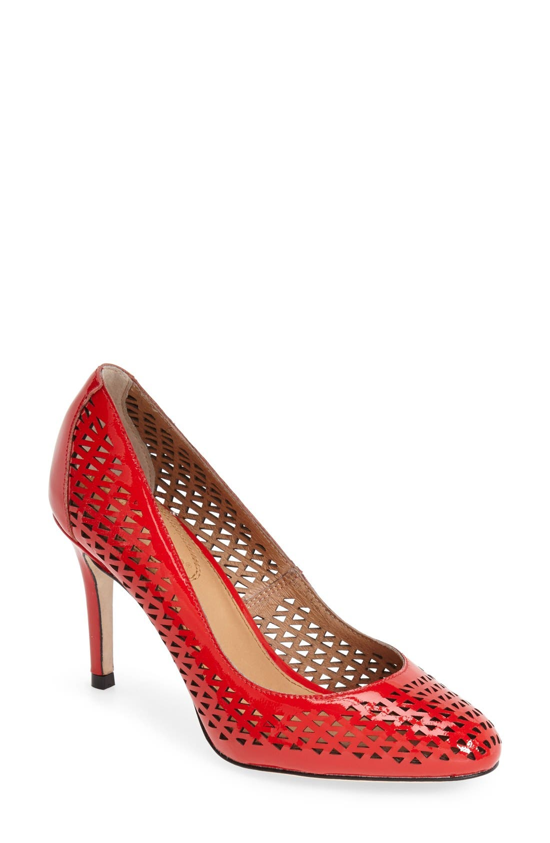 Alternate Image 1 Selected - Corso Como 'Wanda' Perforated Leather Pump (Women)