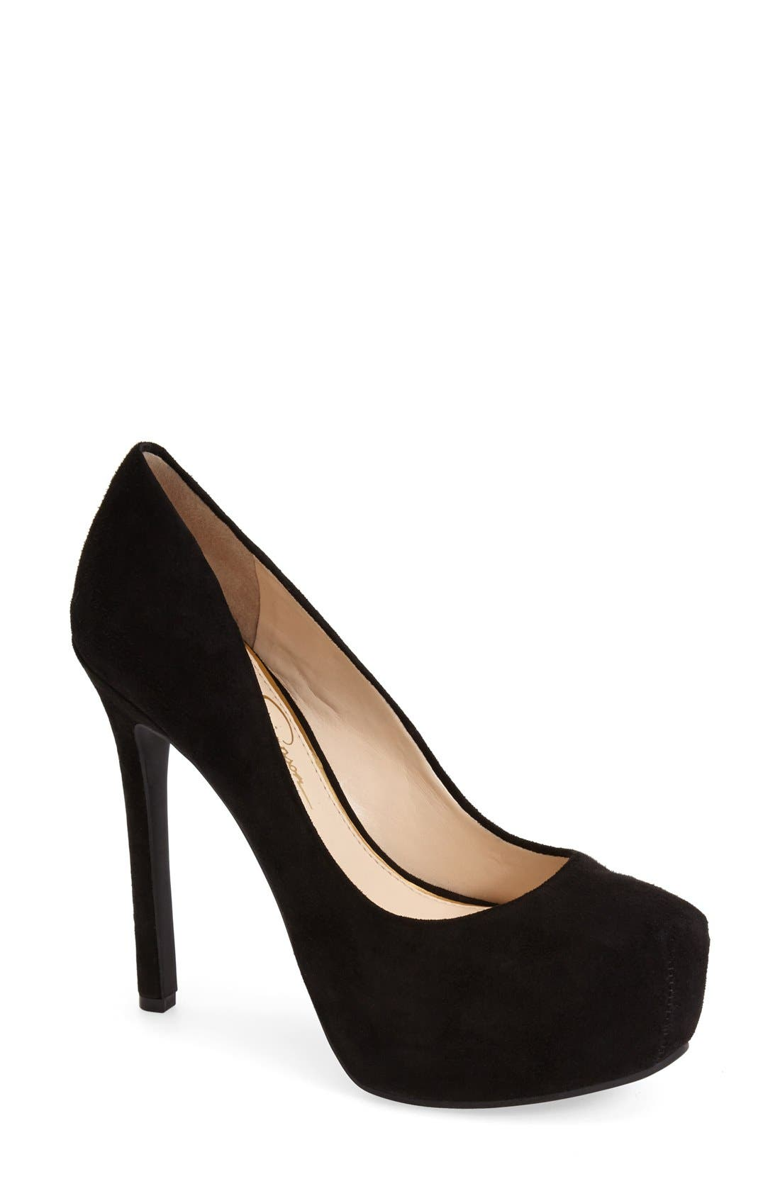 Alternate Image 1 Selected - Jessica Simpson 'Rebeca' Platform Pump (Women)