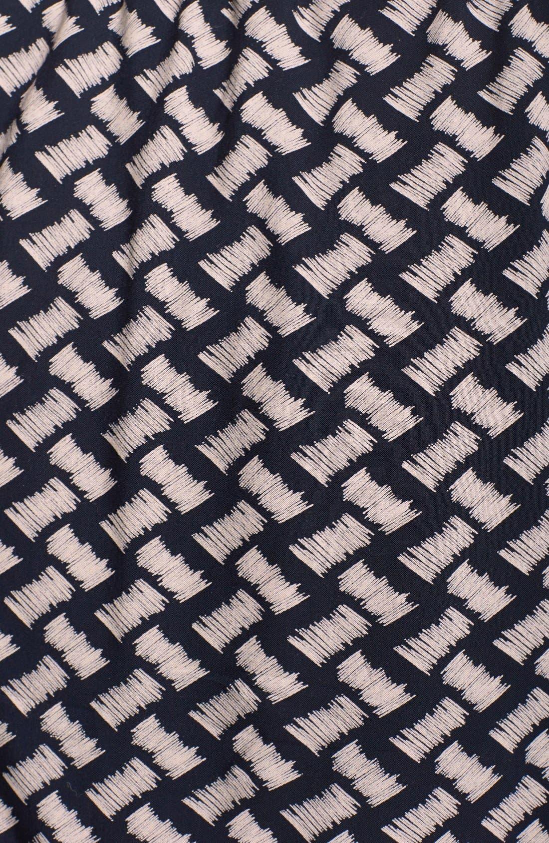 Alternate Image 4  - GREYLIN 'Osten' Print Back Cutout Sleeveless Shirtdress