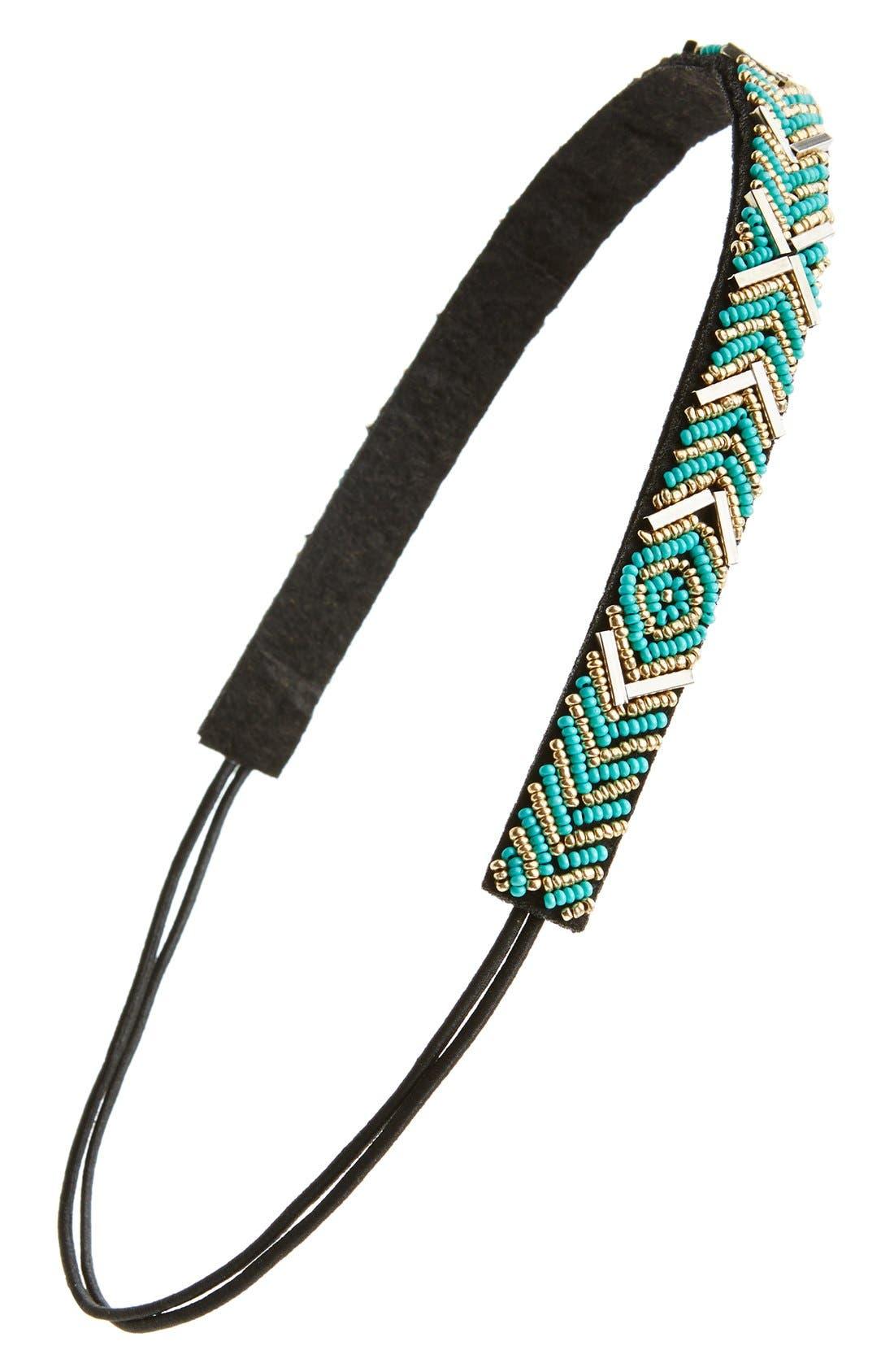 Main Image - BP. Chevron Beaded Headband