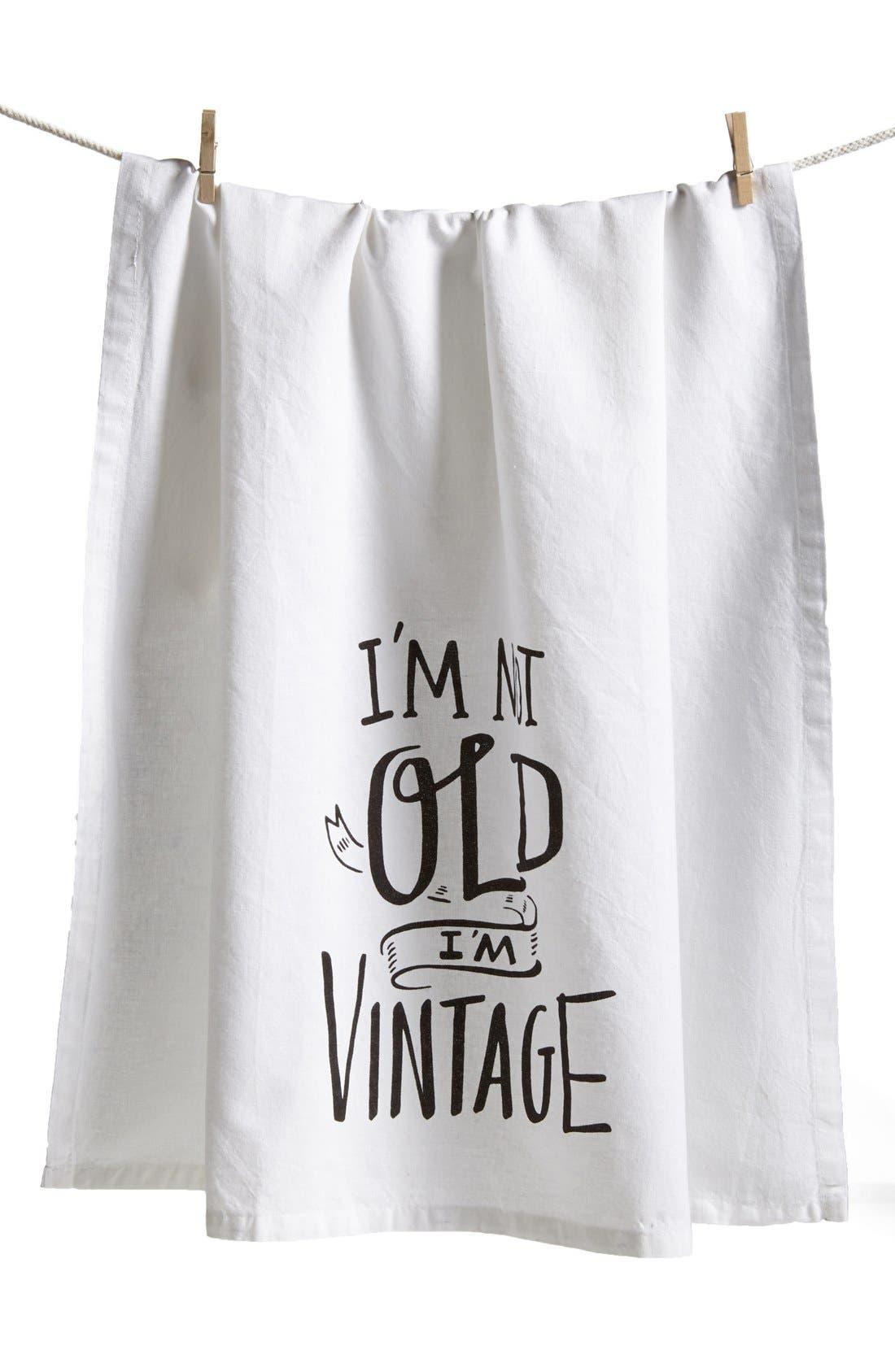 Alternate Image 1 Selected - Primitives by Kathy 'I'm Vintage' Tea Towel
