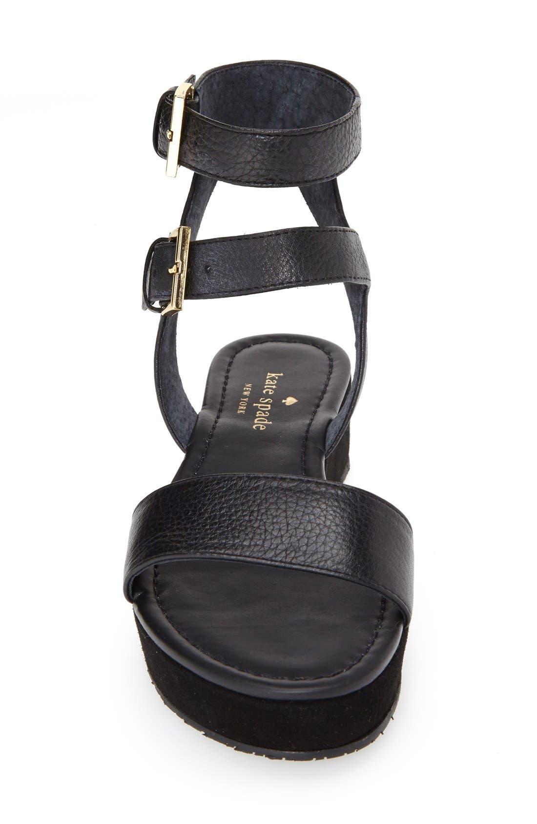 Alternate Image 4  - kate spade new york 'troy' platform sandal (Women)