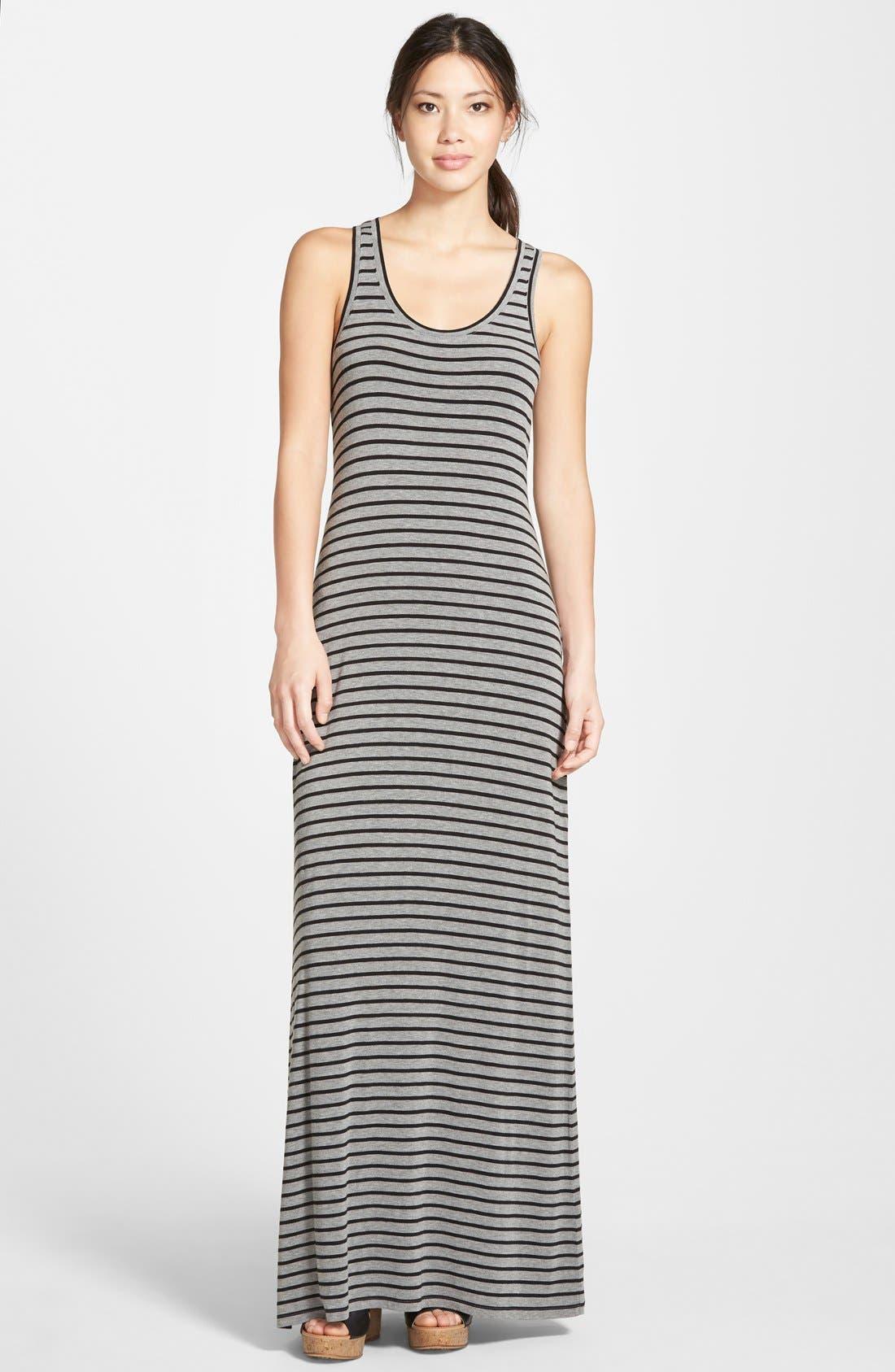 Alternate Image 1 Selected - Caslon® Racerback Maxi Tank Dress (Regular & Petite)