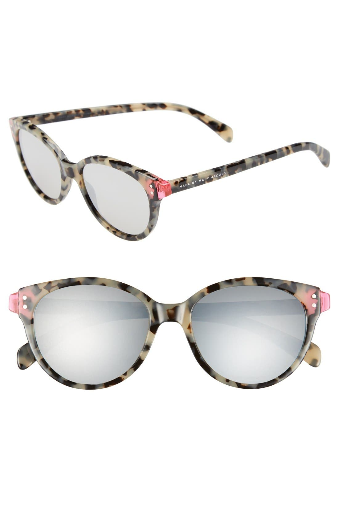 Main Image - MARC JACOBS 'Preppy' 51mm Retro Sunglasses