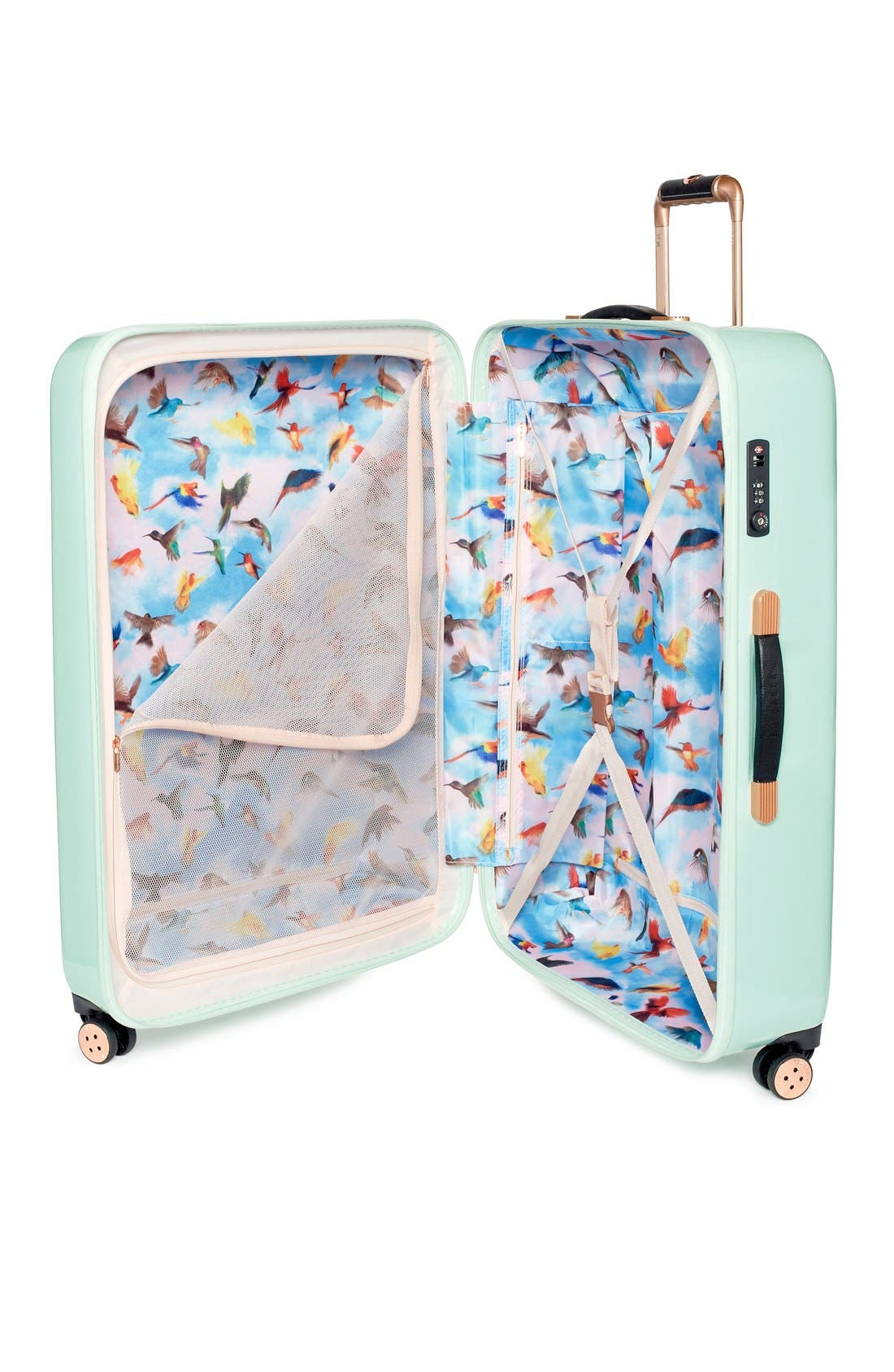 Alternate Image 3  - Ted Baker London 'Large Sugar Sweet Florals' Hard Shell Suitcase (32 Inch)