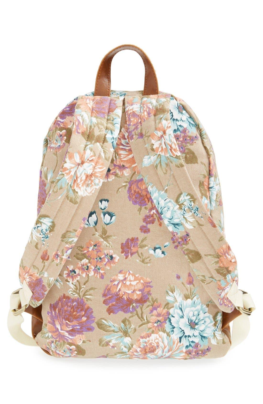 Alternate Image 3  - Nila Anthony Floral Print Backpack