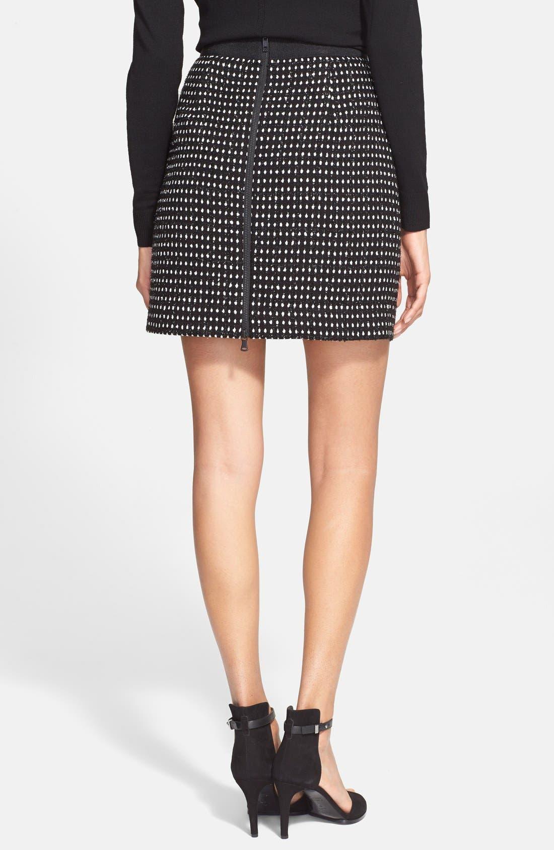 Alternate Image 2  - Milly Dot Tweed Miniskirt